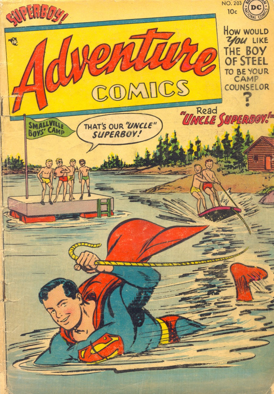 Read online Adventure Comics (1938) comic -  Issue #203 - 1