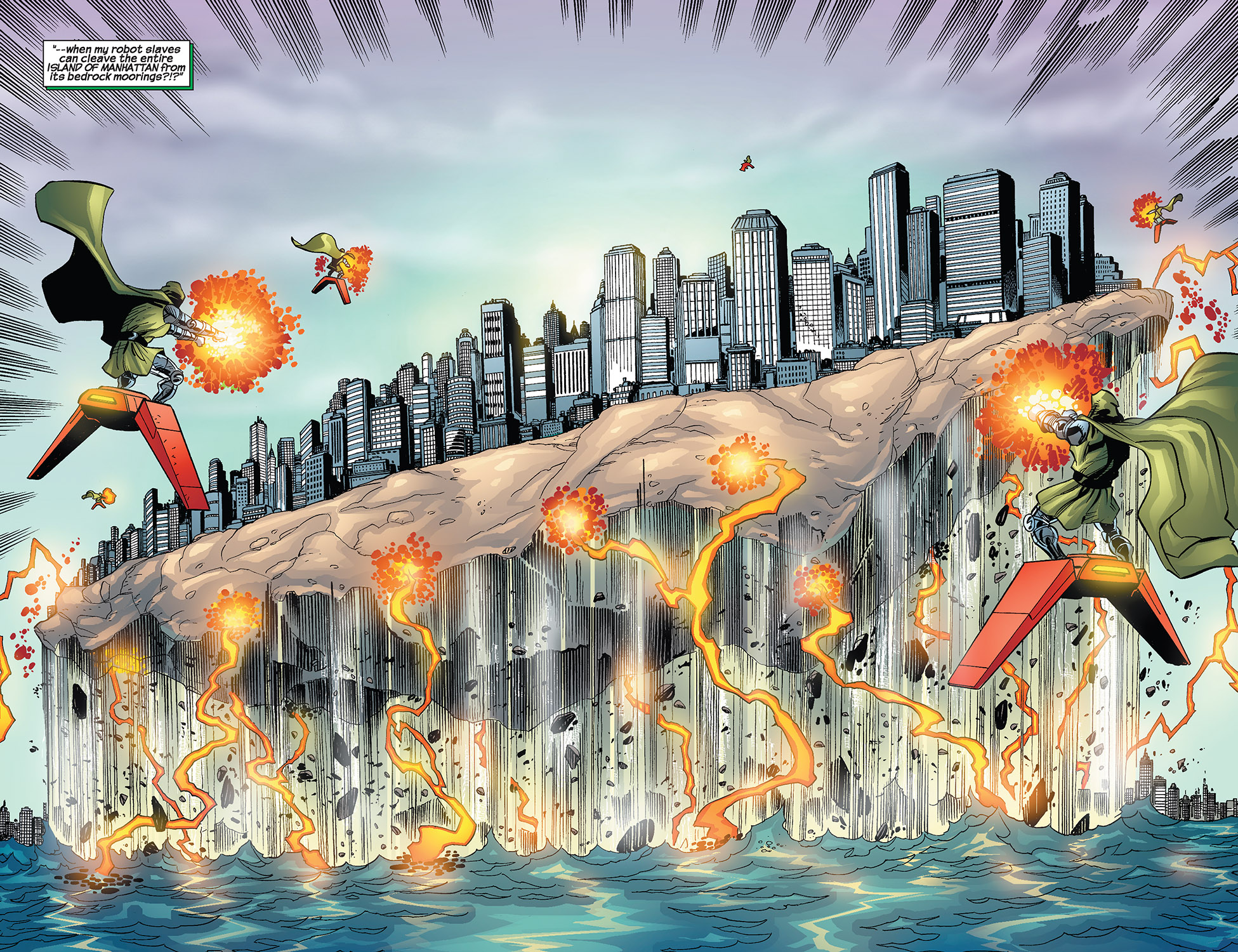 Read online Fantastic Five (2007) comic -  Issue #3 - 19