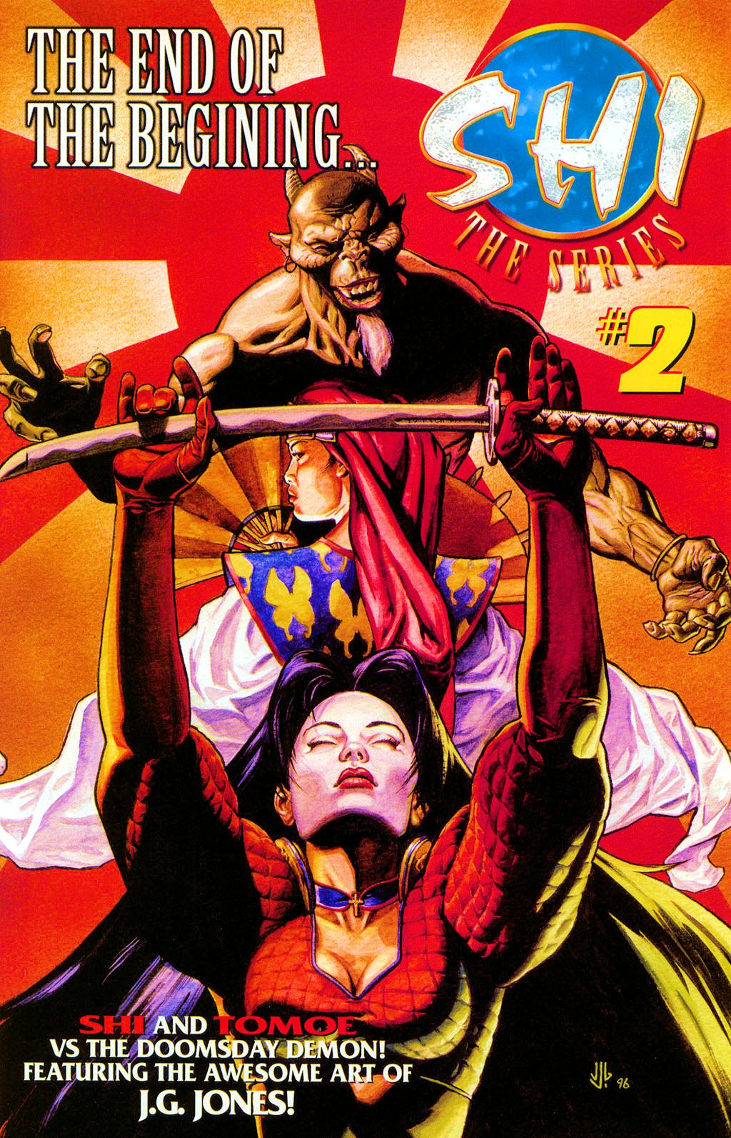 Read online Shi: The Series comic -  Issue #1 - 25