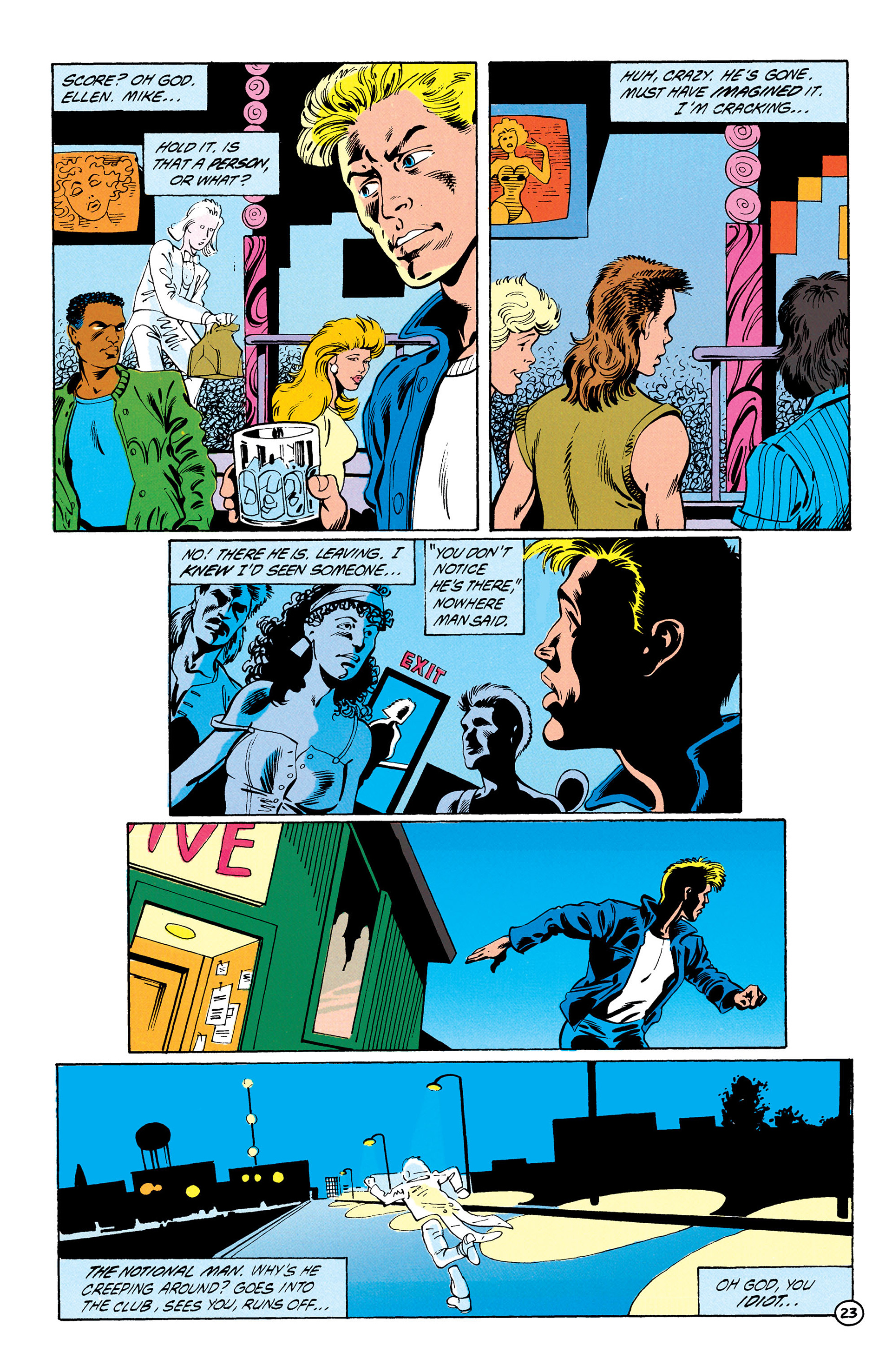 Read online Animal Man (1988) comic -  Issue #28 - 24