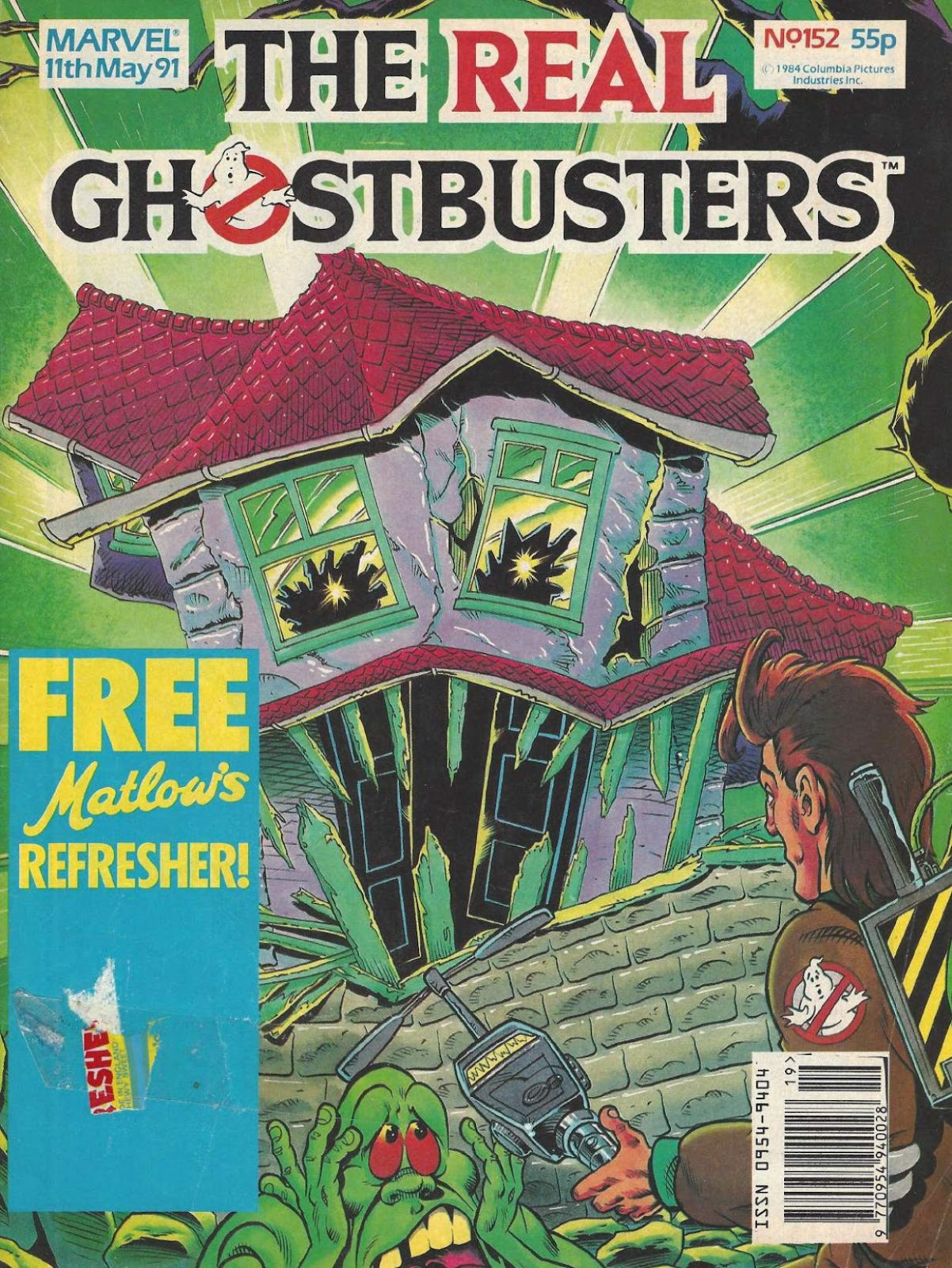 The Real Ghostbusters 152 Page 1