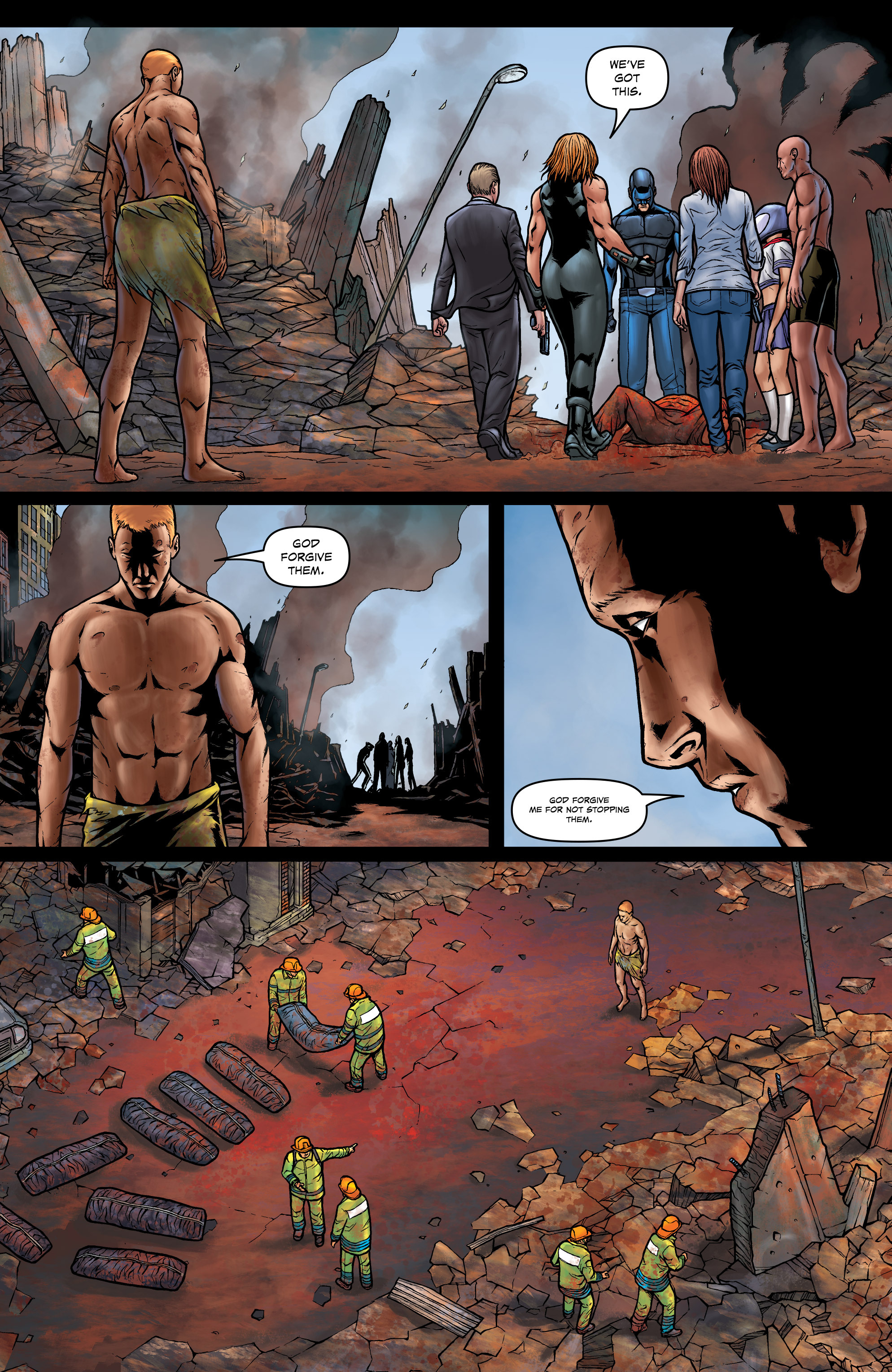 Read online Absolution: Rubicon comic -  Issue #5 - 17