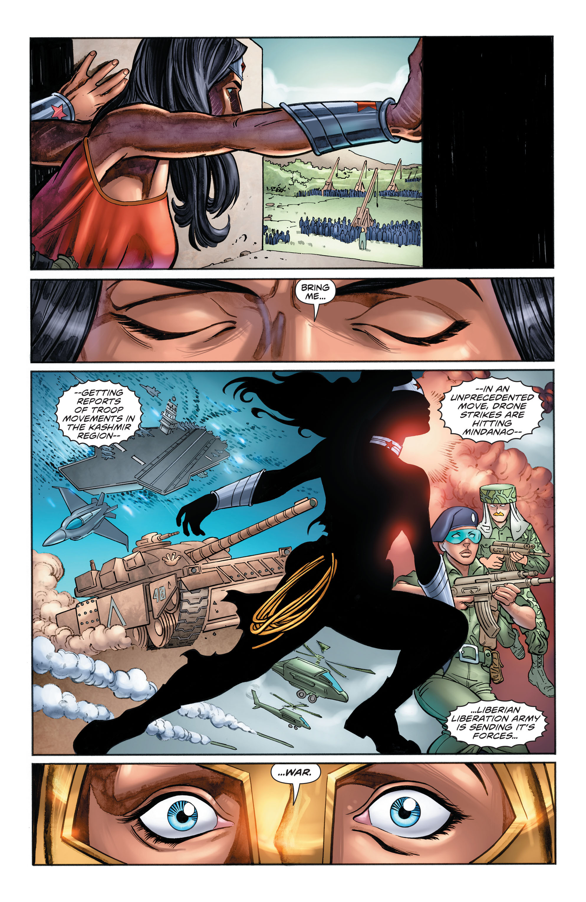 Read online Wonder Woman: Futures End comic -  Issue # Full - 18