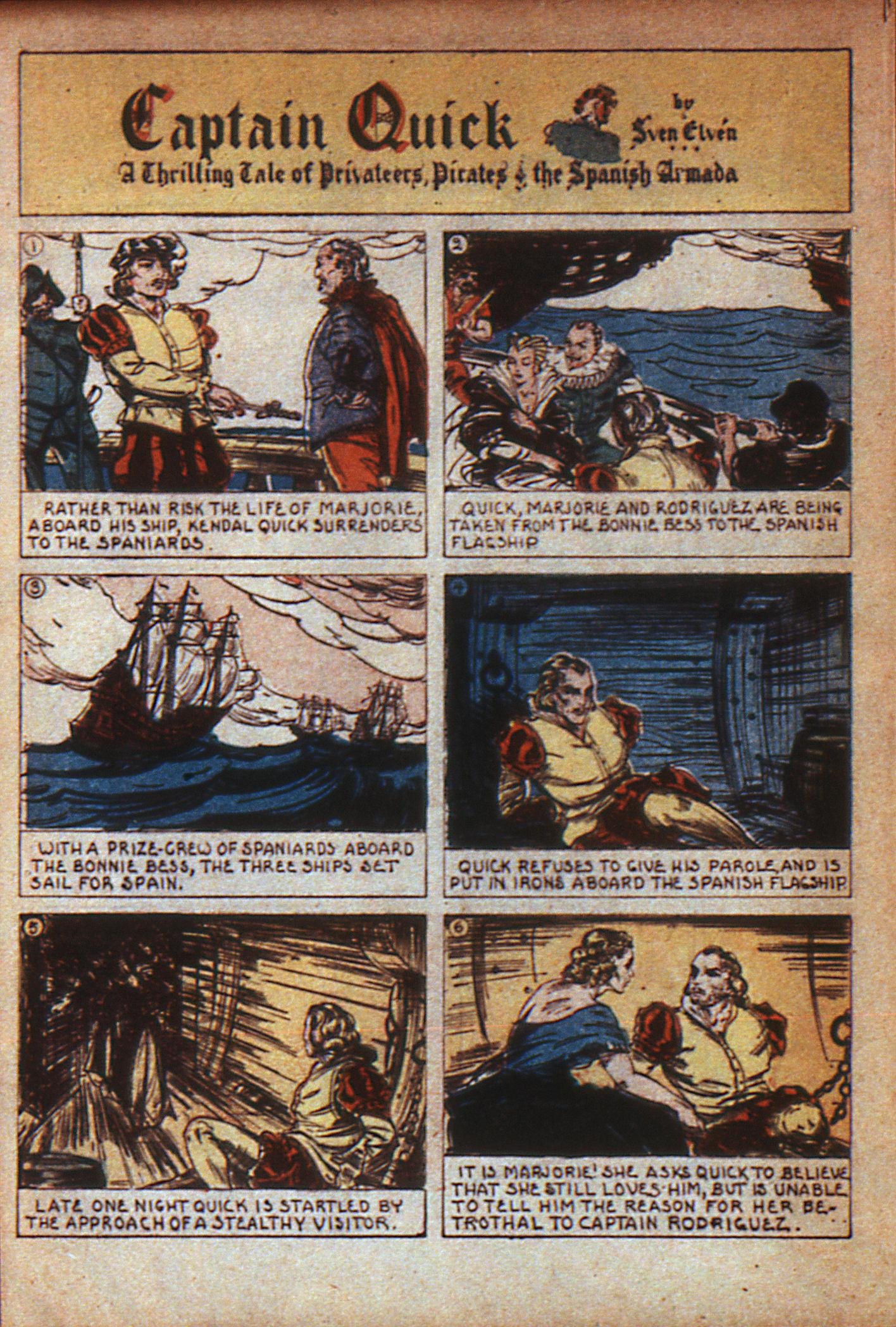 Read online Adventure Comics (1938) comic -  Issue #7 - 13