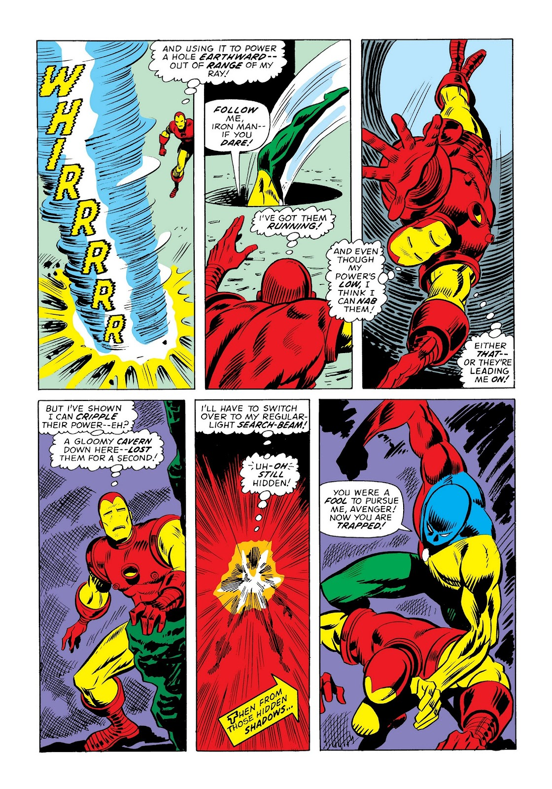 Read online Marvel Masterworks: The Invincible Iron Man comic -  Issue # TPB 9 (Part 3) - 43