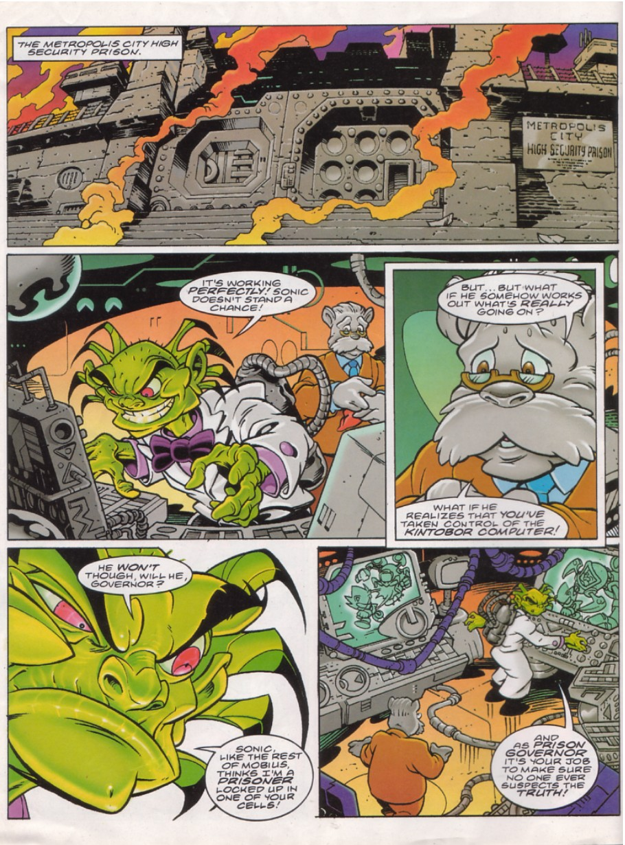 Read online Sonic the Comic comic -  Issue #144 - 4