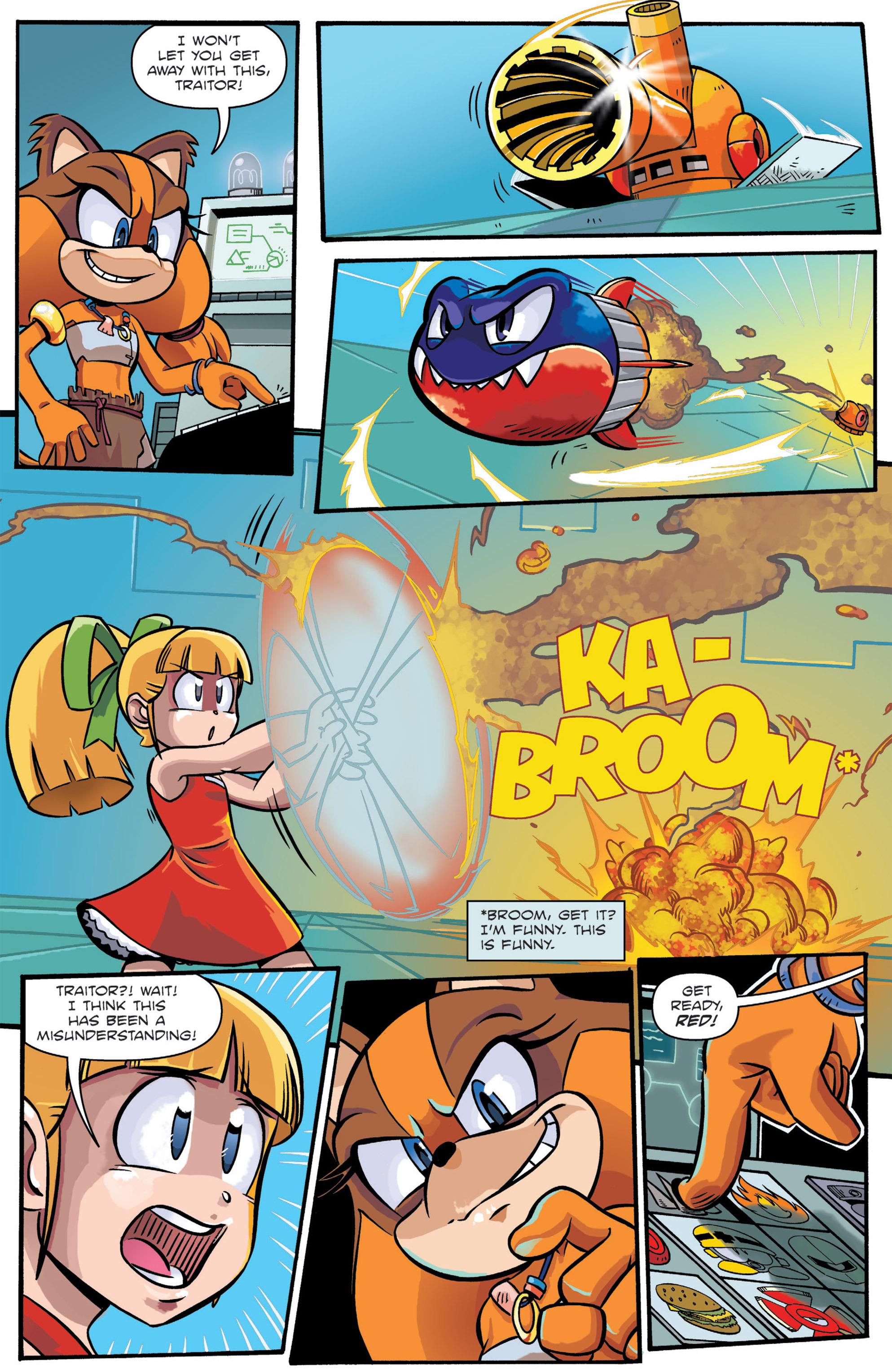 Read online Sonic: Worlds Unite Battles comic -  Issue # Full - 13