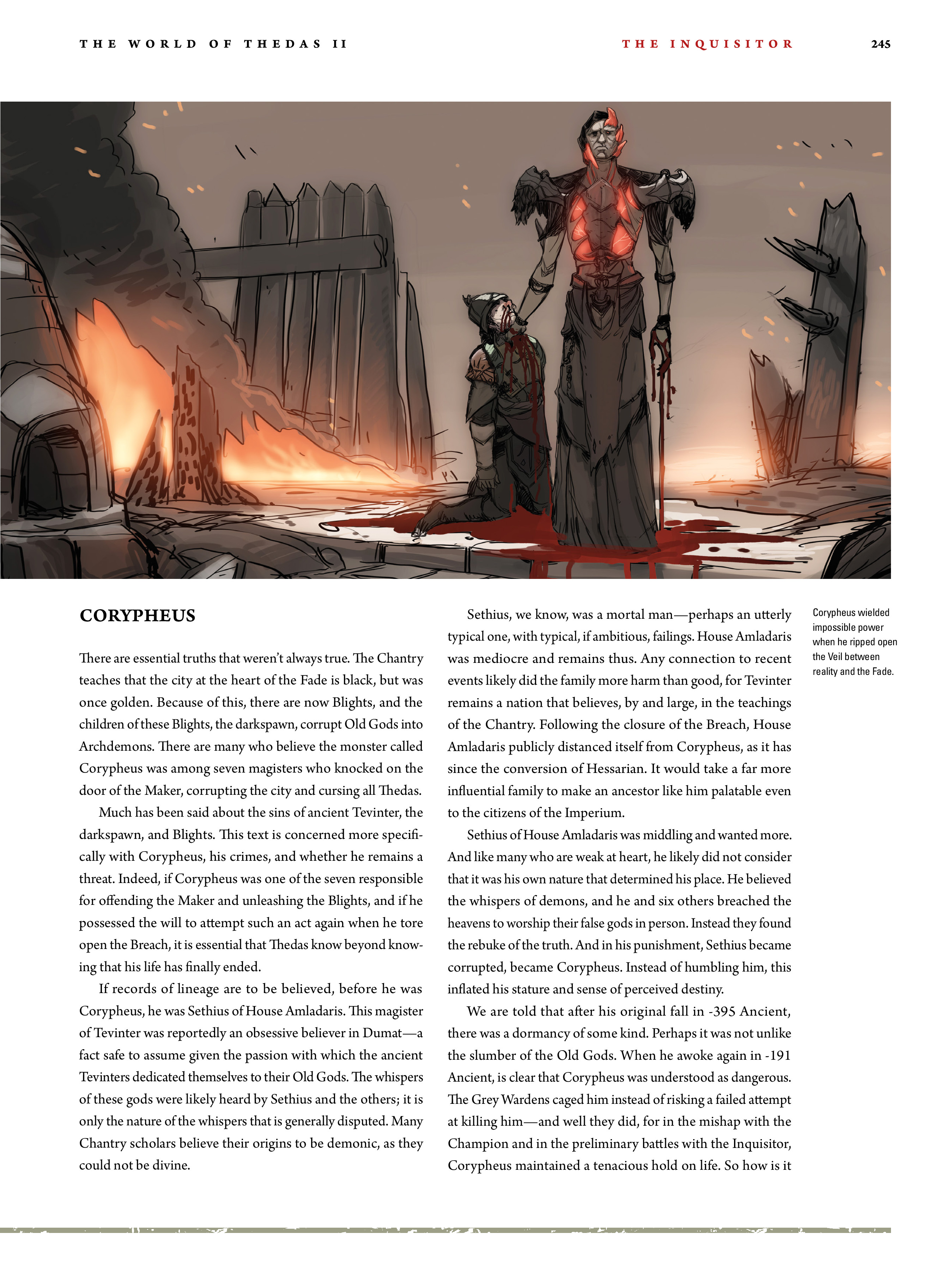 Read online Dragon Age: The World of Thedas comic -  Issue # TPB 2 - 239