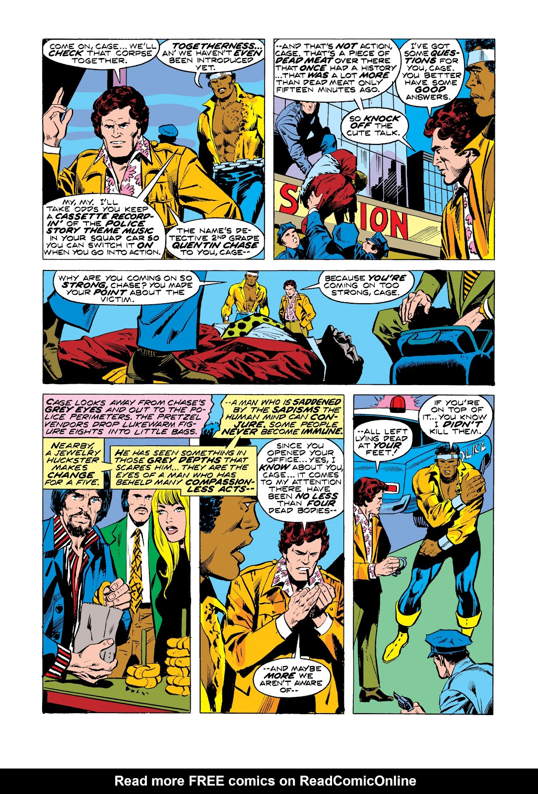 Read online Marvel Masterworks: Luke Cage, Power Man comic -  Issue # TPB 2 (Part 3) - 27