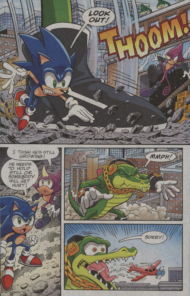 Read online Sonic X comic -  Issue #39 - 12