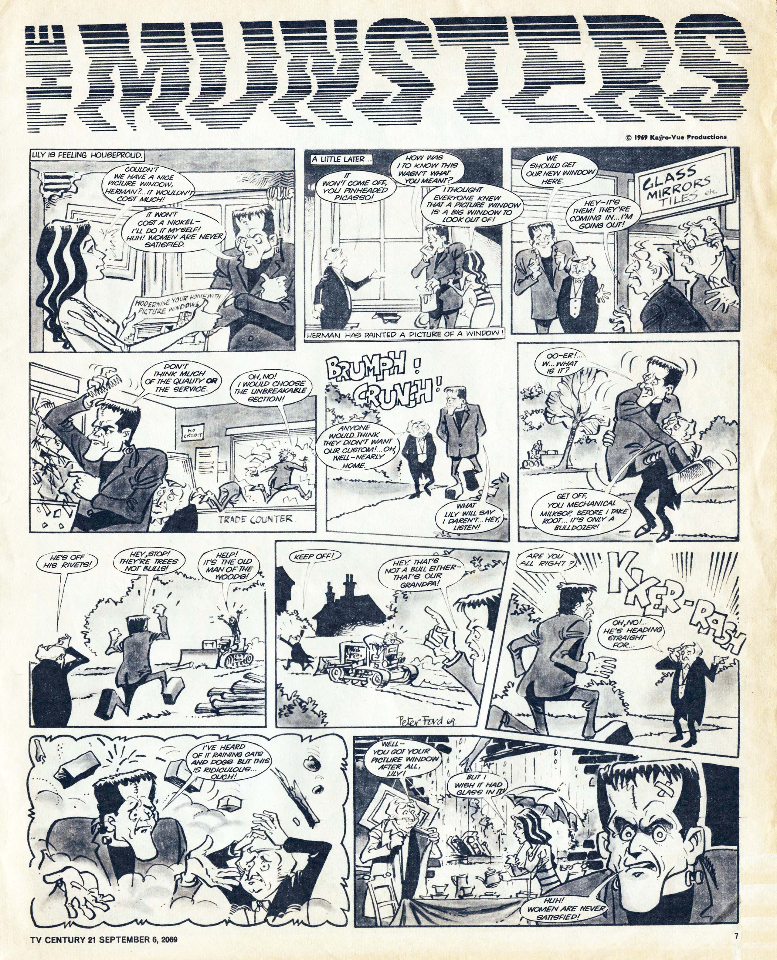 Read online TV Century 21 (TV 21) comic -  Issue #242 - 7