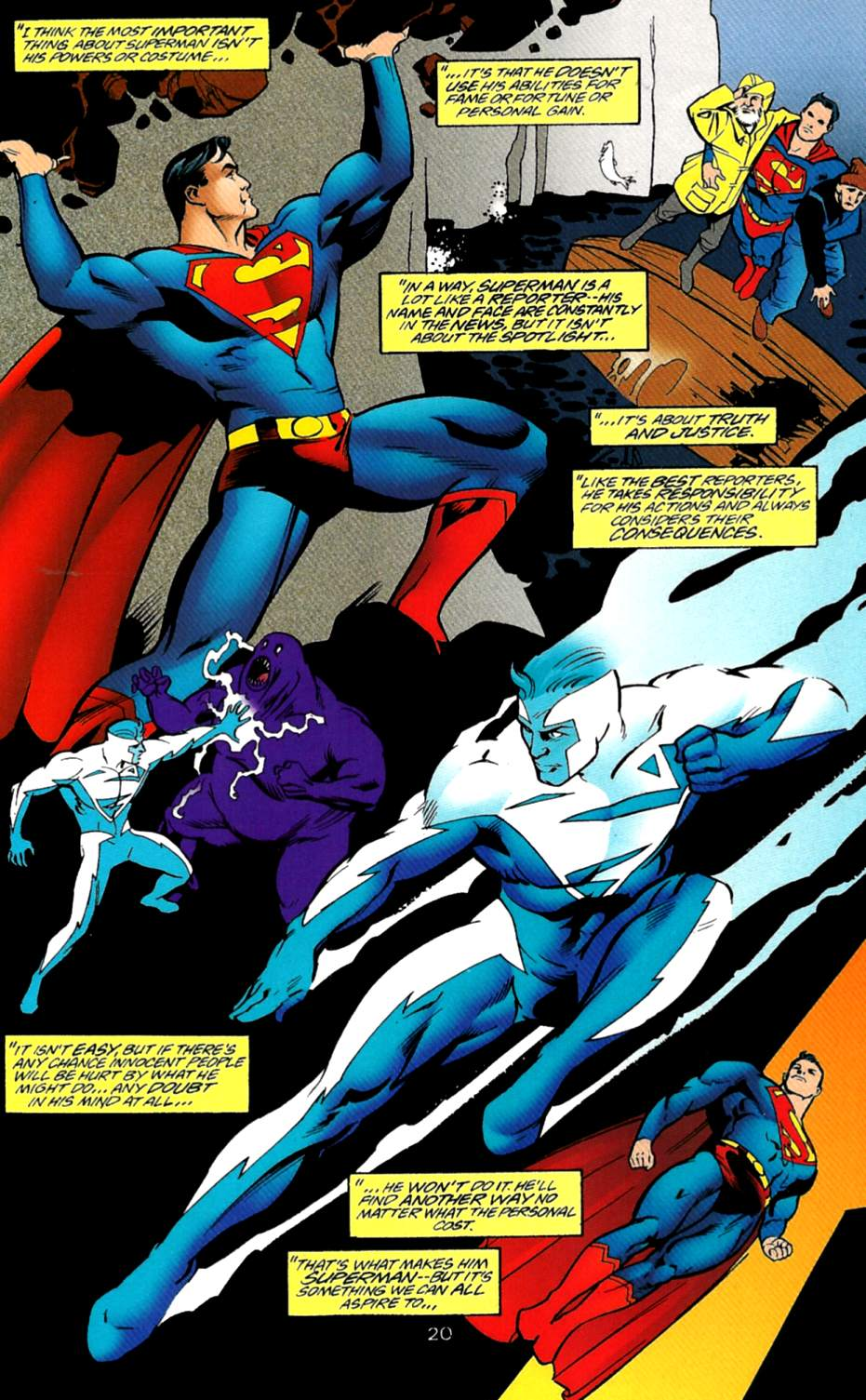 Read online Adventures of Superman (1987) comic -  Issue #550 - 21