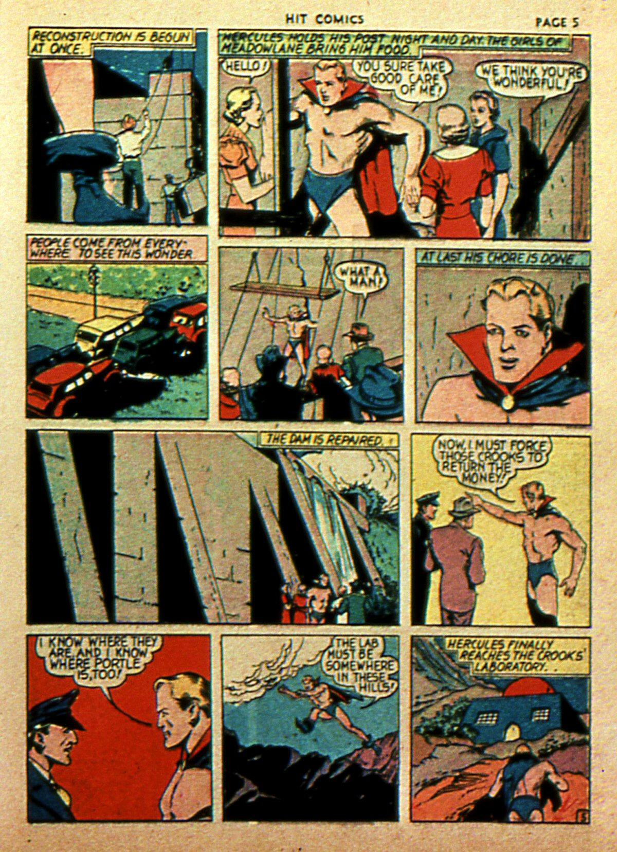 Read online Hit Comics comic -  Issue #2 - 7