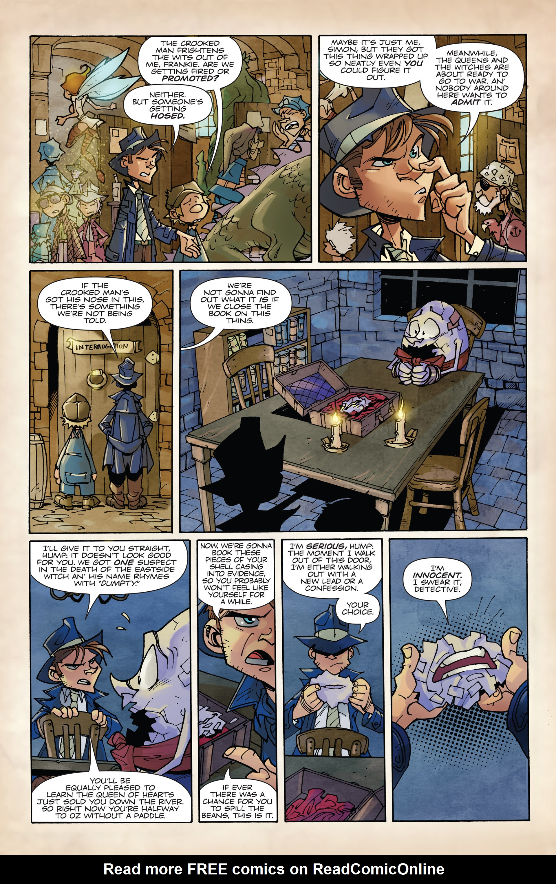 Read online Fiction Squad comic -  Issue #2 - 6