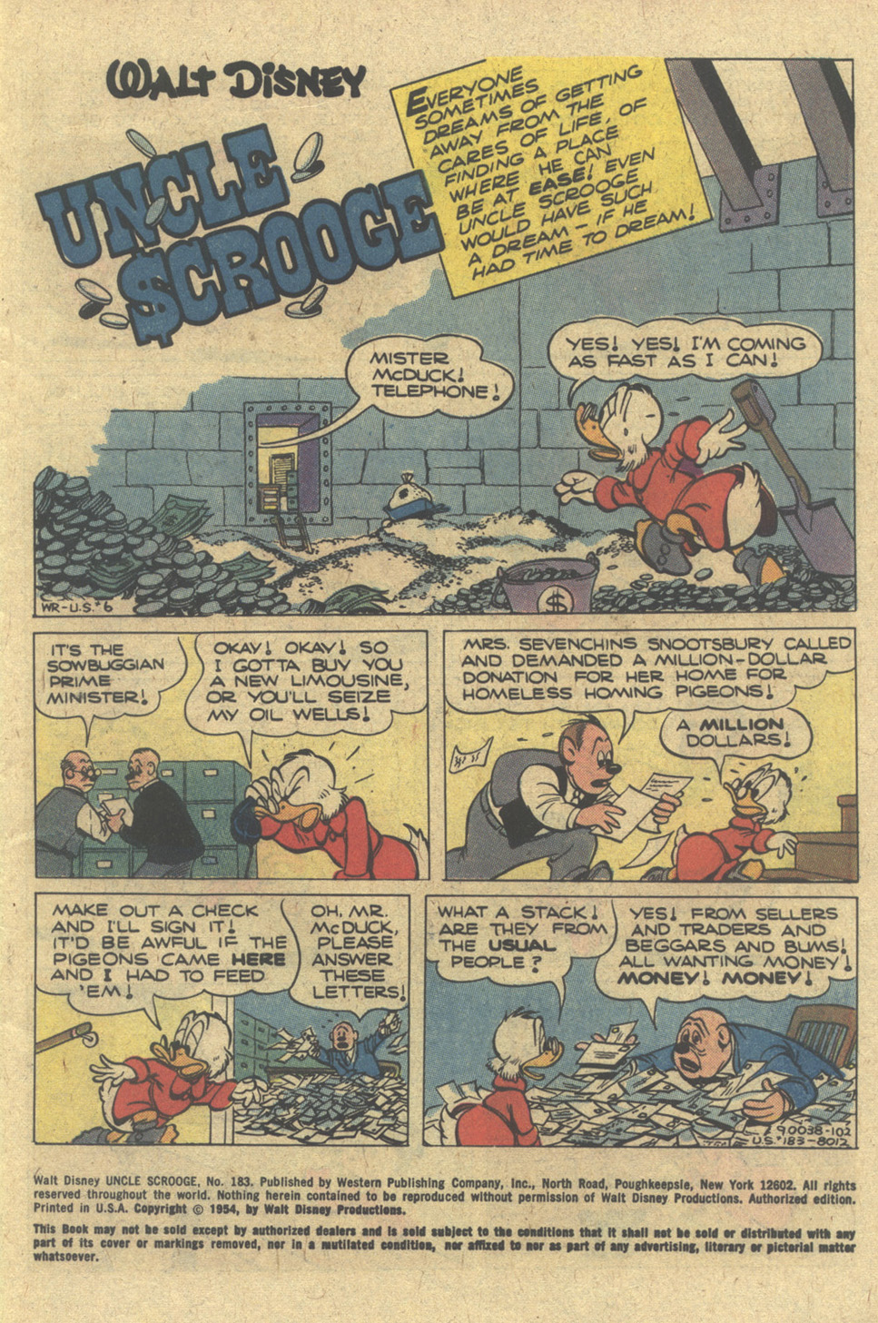 Read online Uncle Scrooge (1953) comic -  Issue #183 - 3