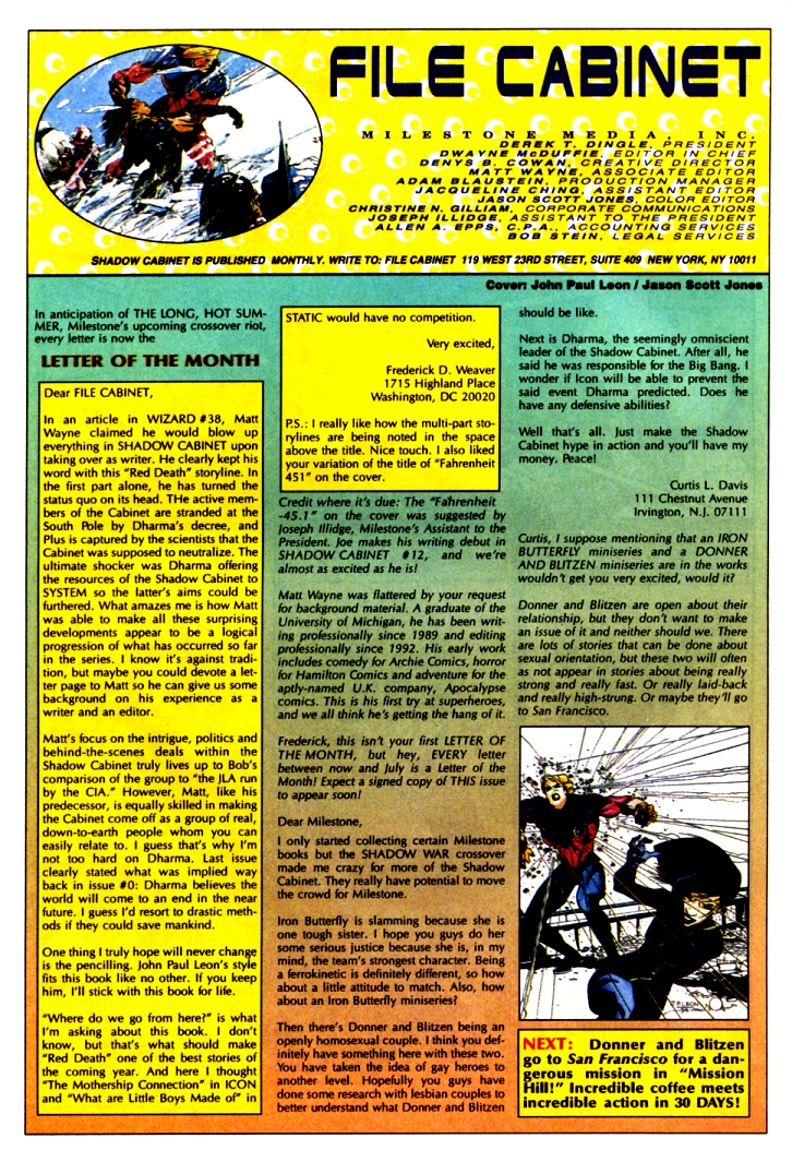 Read online Shadow Cabinet comic -  Issue #10 - 34