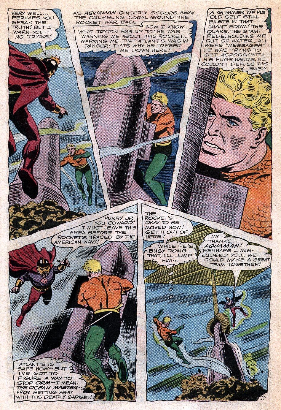 Read online Aquaman (1962) comic -  Issue #32 - 27