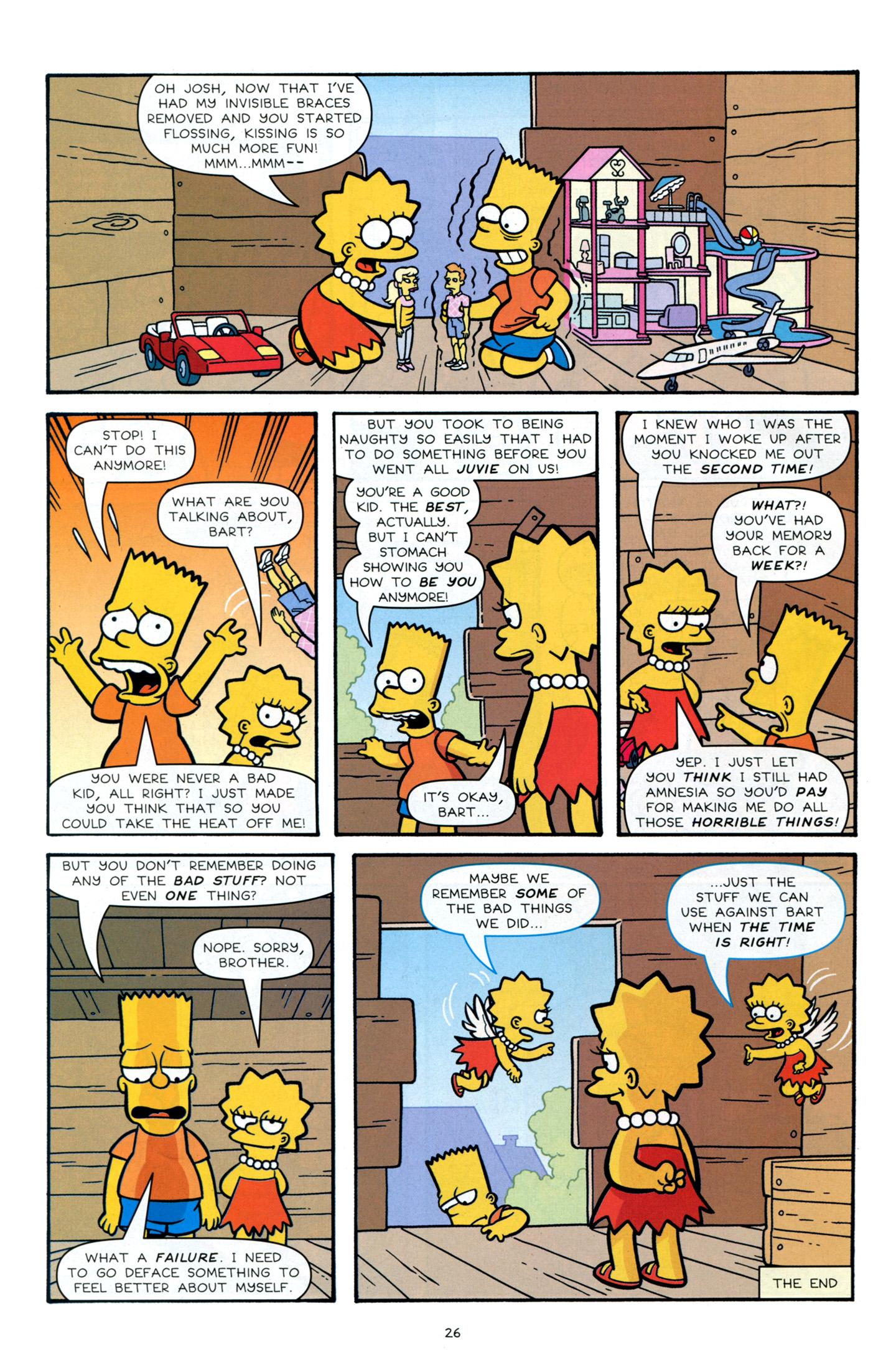 Read online Simpsons Comics Presents Bart Simpson comic -  Issue #66 - 28