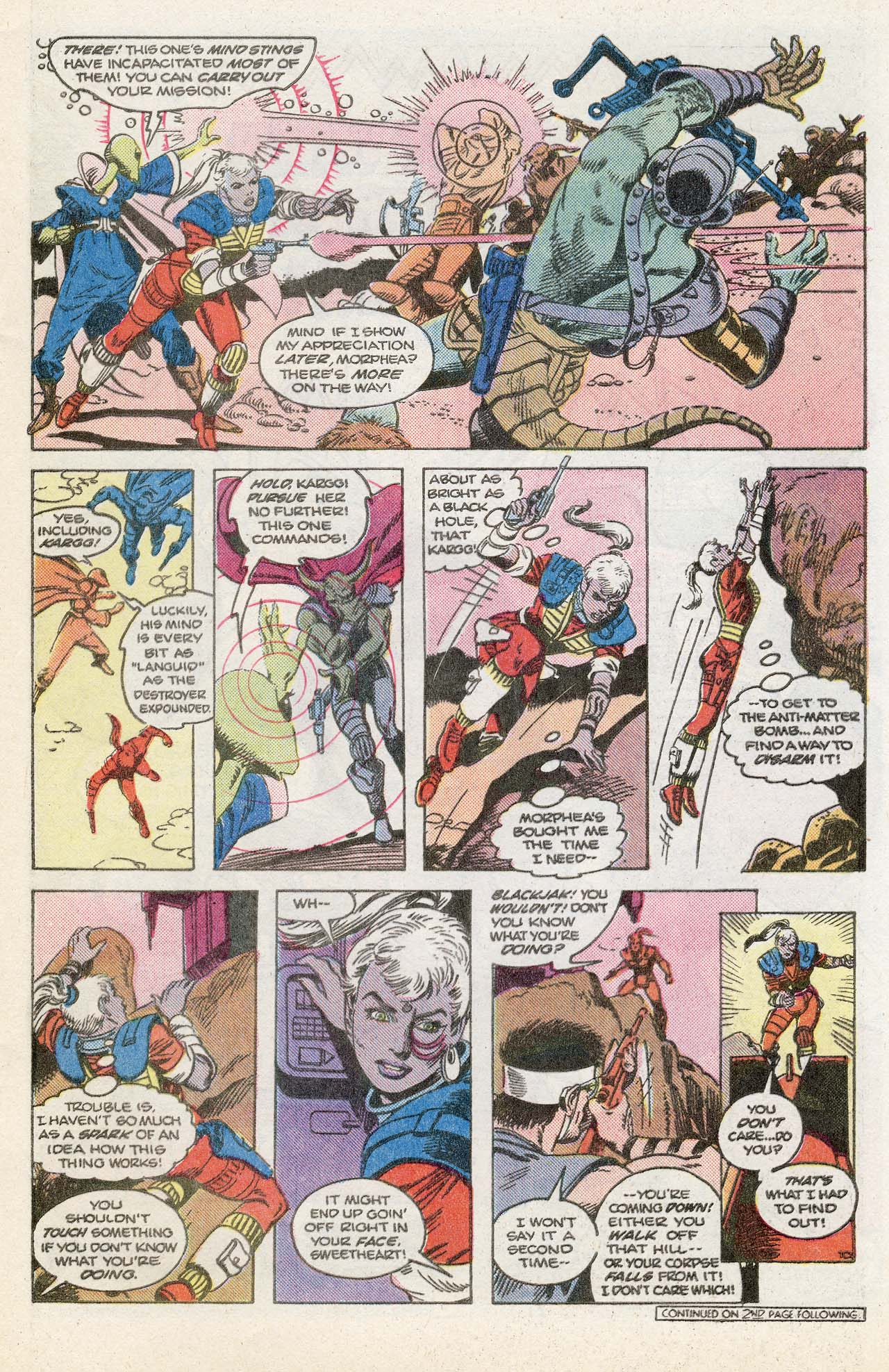 Read online Atari Force (1984) comic -  Issue #13 - 13