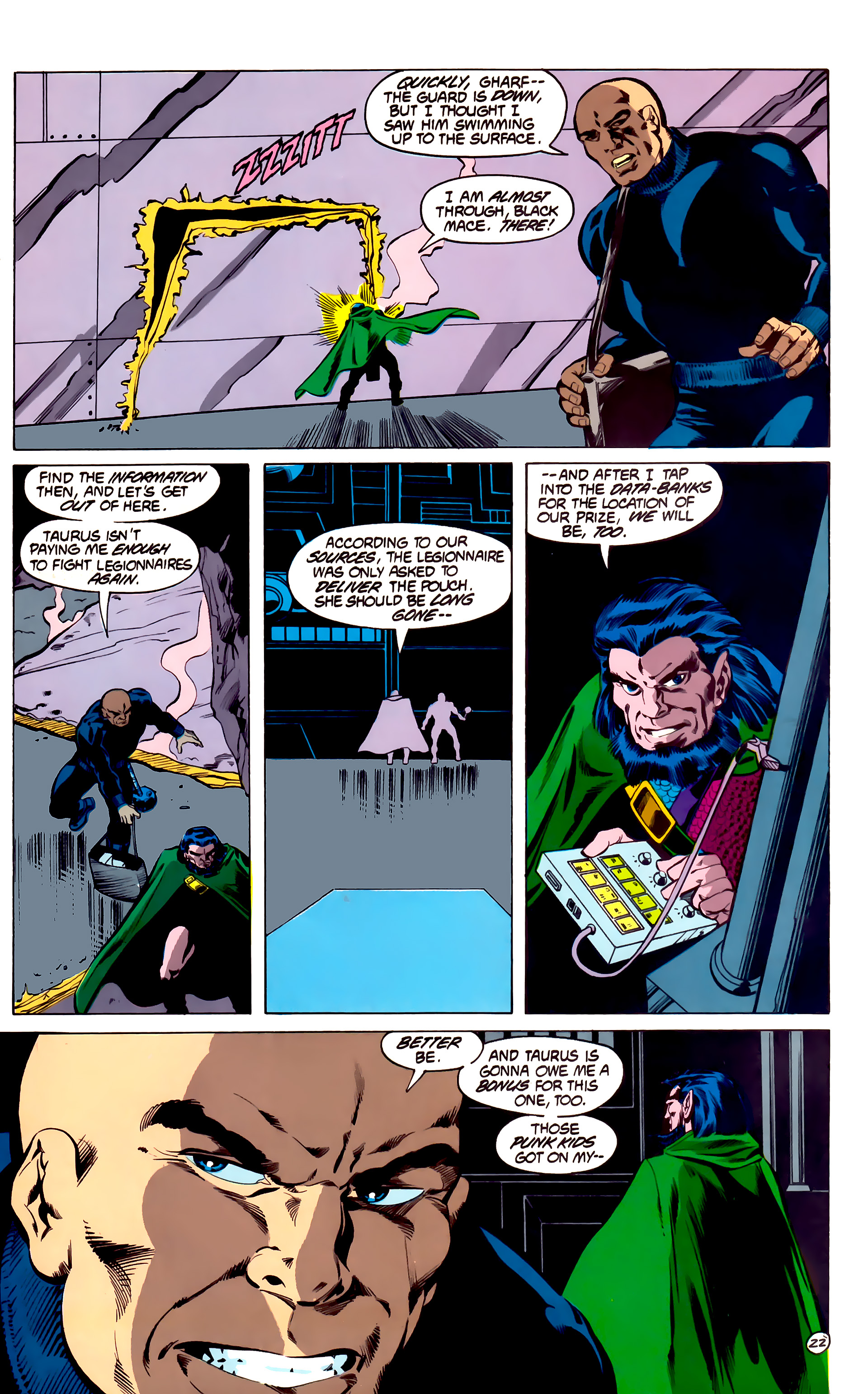 Legion of Super-Heroes (1984) 31 Page 22