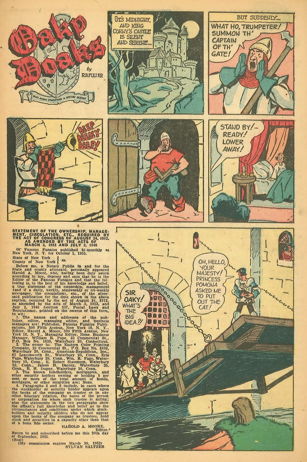 Read online Famous Funnies comic -  Issue #199 - 21