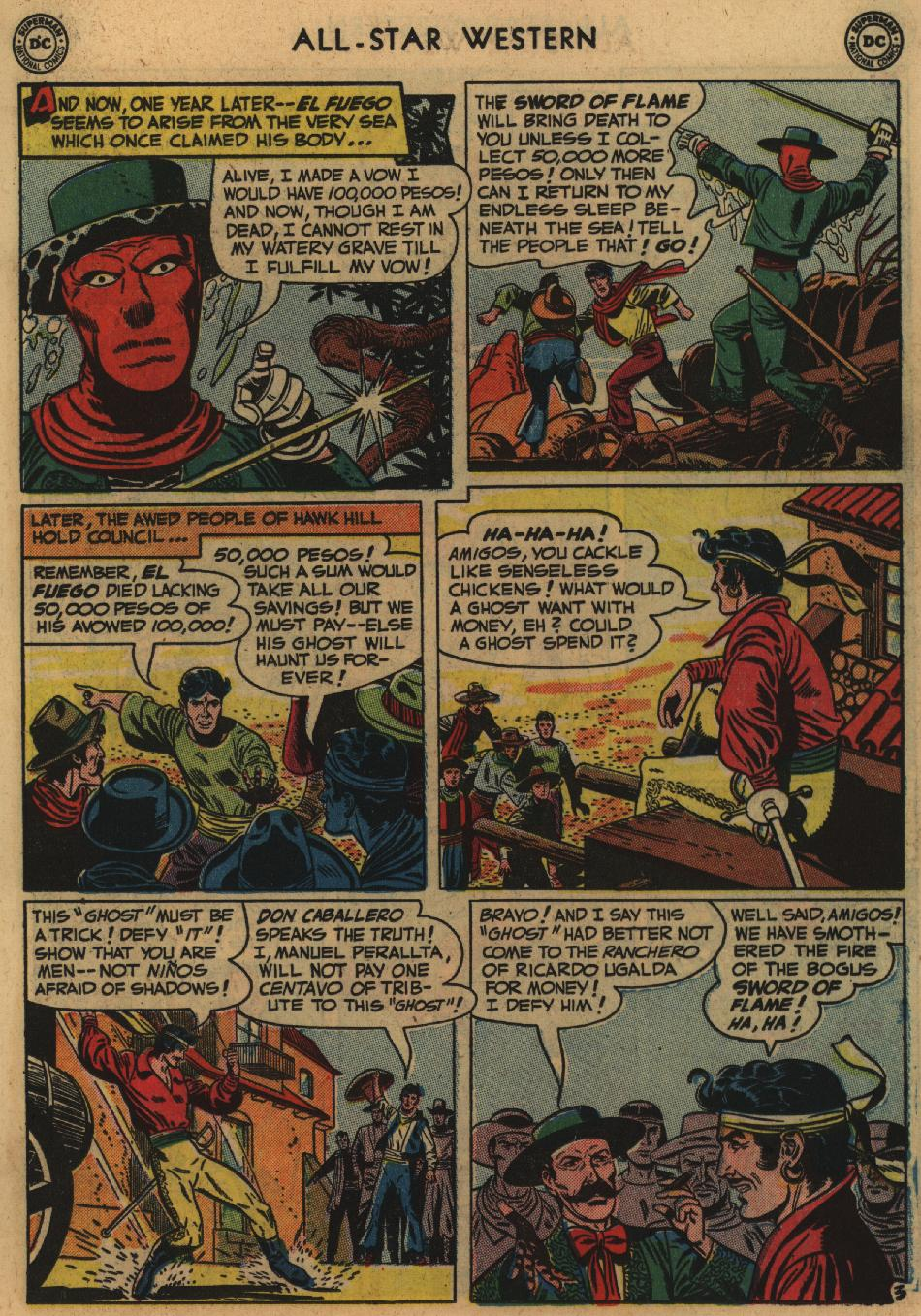 Read online All-Star Western (1951) comic -  Issue #60 - 17
