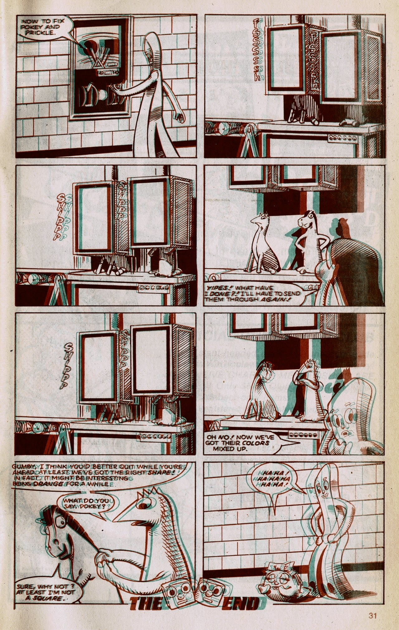 Gumby 3-D issue 1 - Page 33