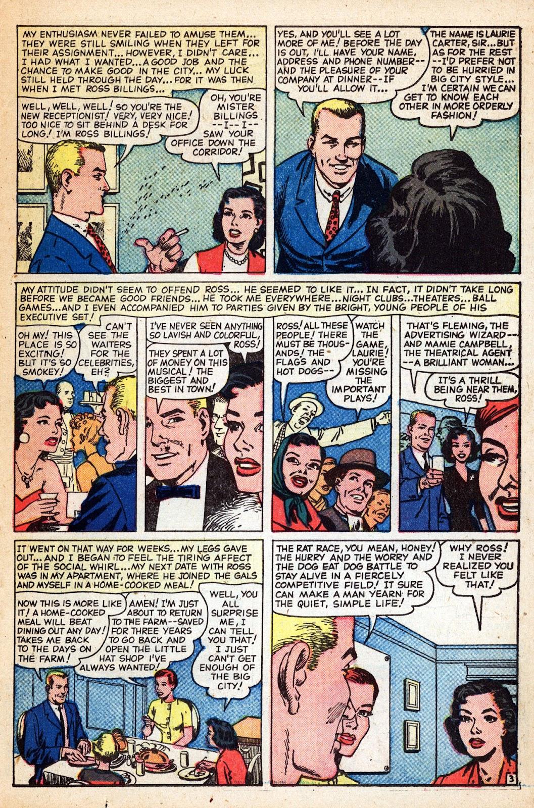 Love Romances (1949) issue 83 - Page 23