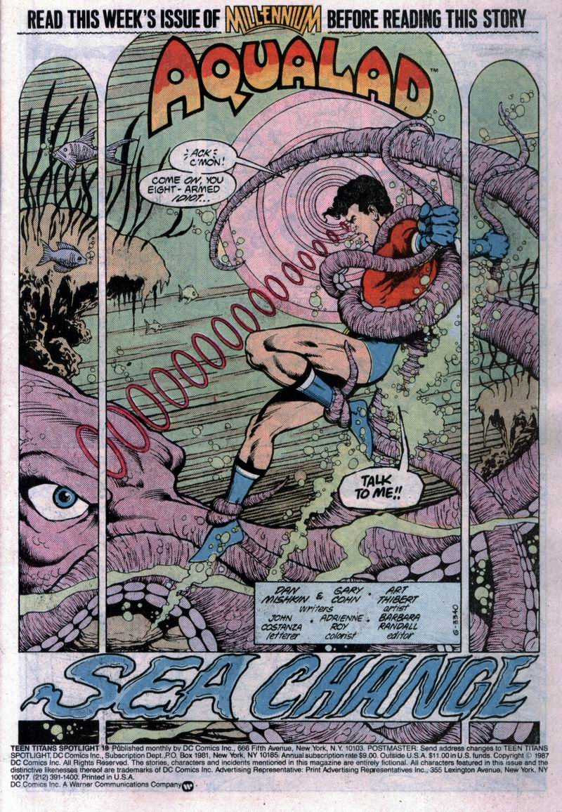 Teen Titans Spotlight issue 18 - Page 2