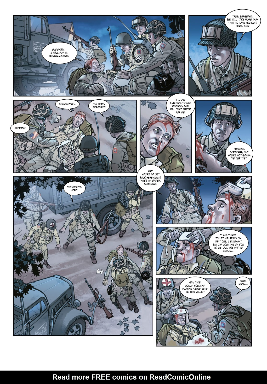 Read online Opération Overlord comic -  Issue #1 - 38