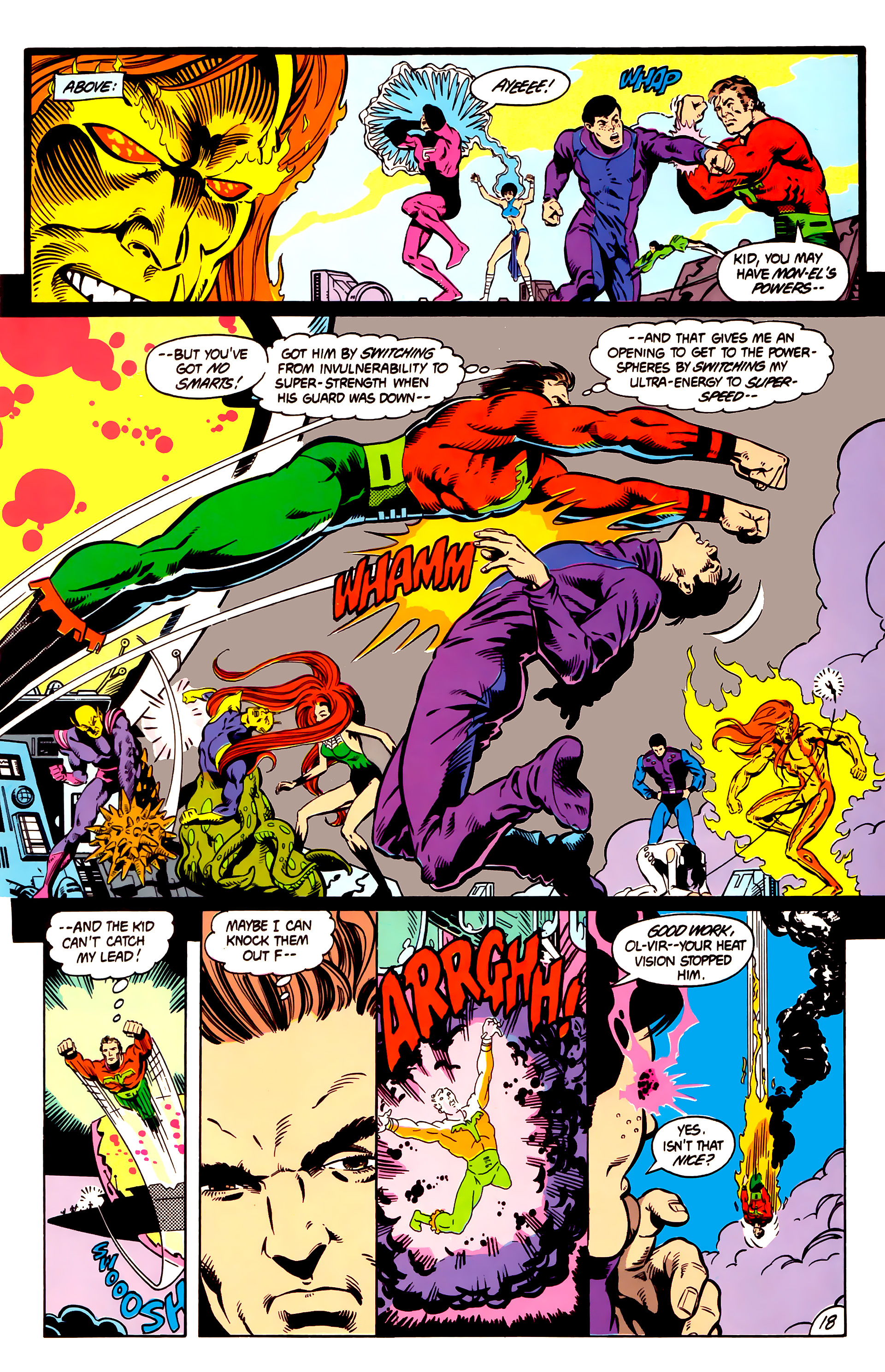 Legion of Super-Heroes (1984) 4 Page 19