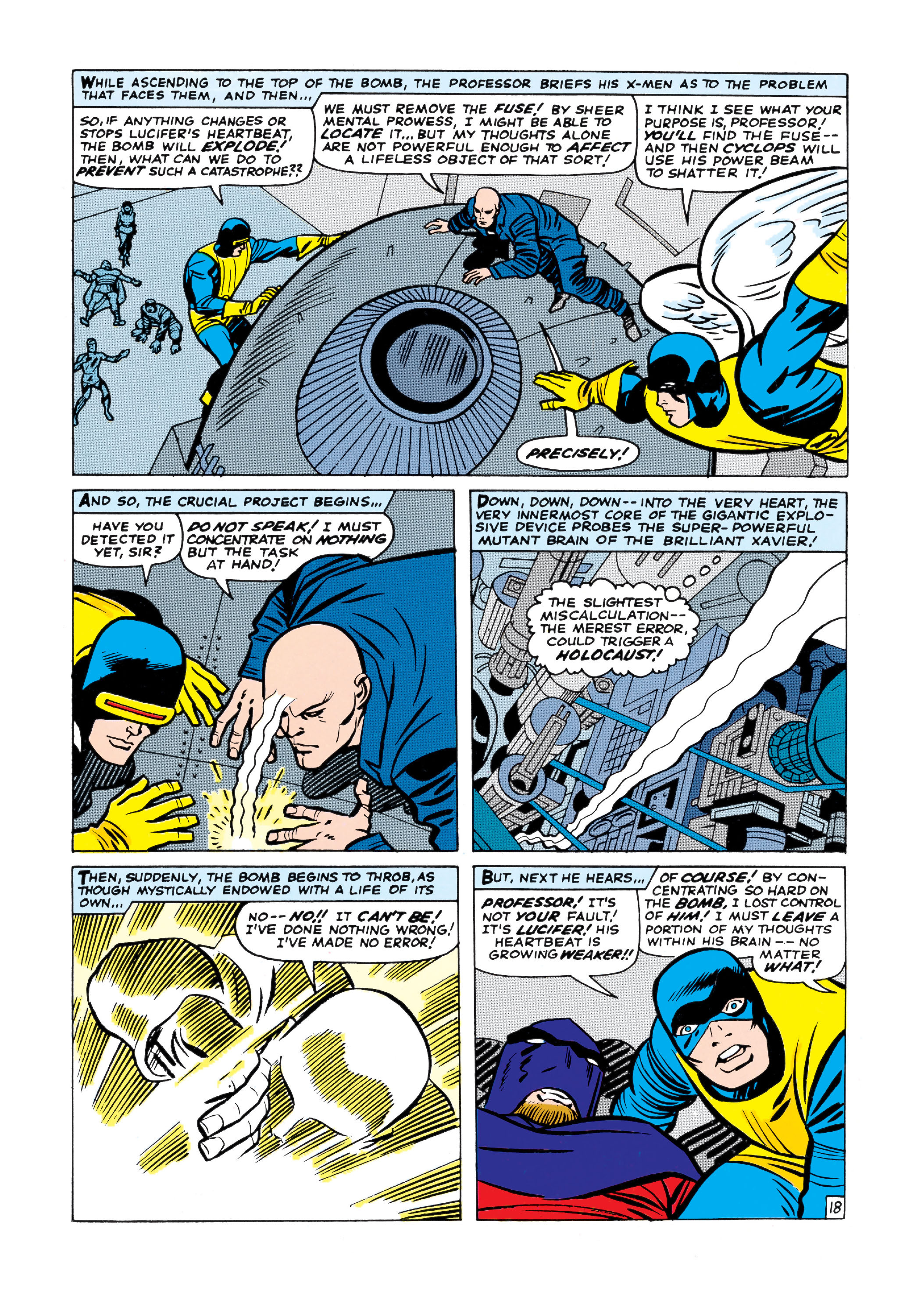 Read online Uncanny X-Men (1963) comic -  Issue #9 - 19
