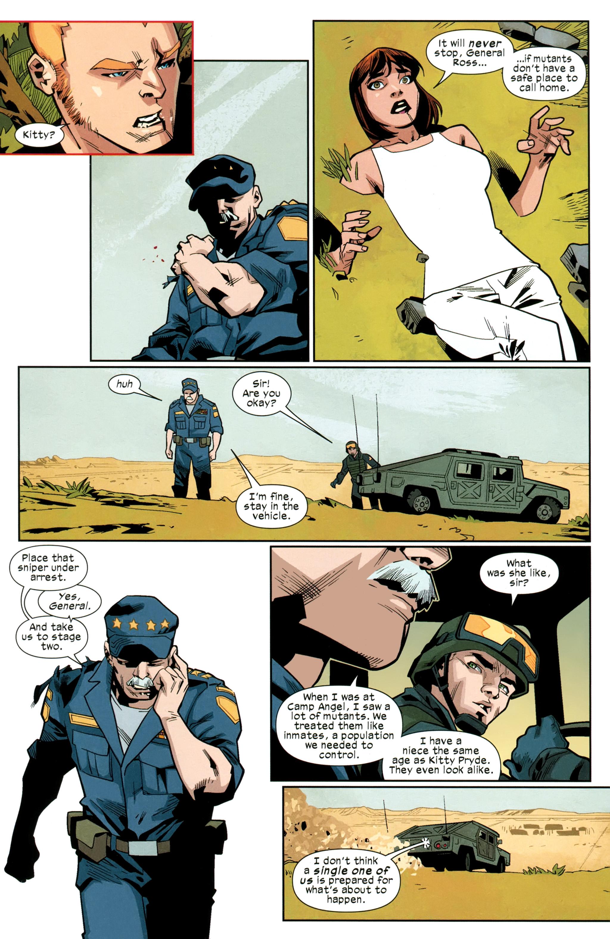 Read online Ultimate Comics X-Men comic -  Issue #26 - 16
