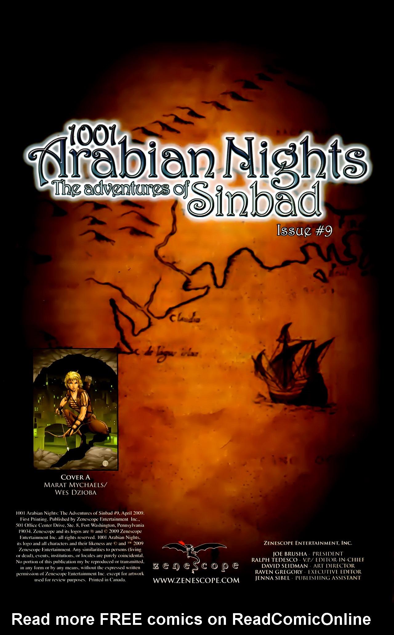 Read online 1001 Arabian Nights: The Adventures of Sinbad comic -  Issue #9 - 2