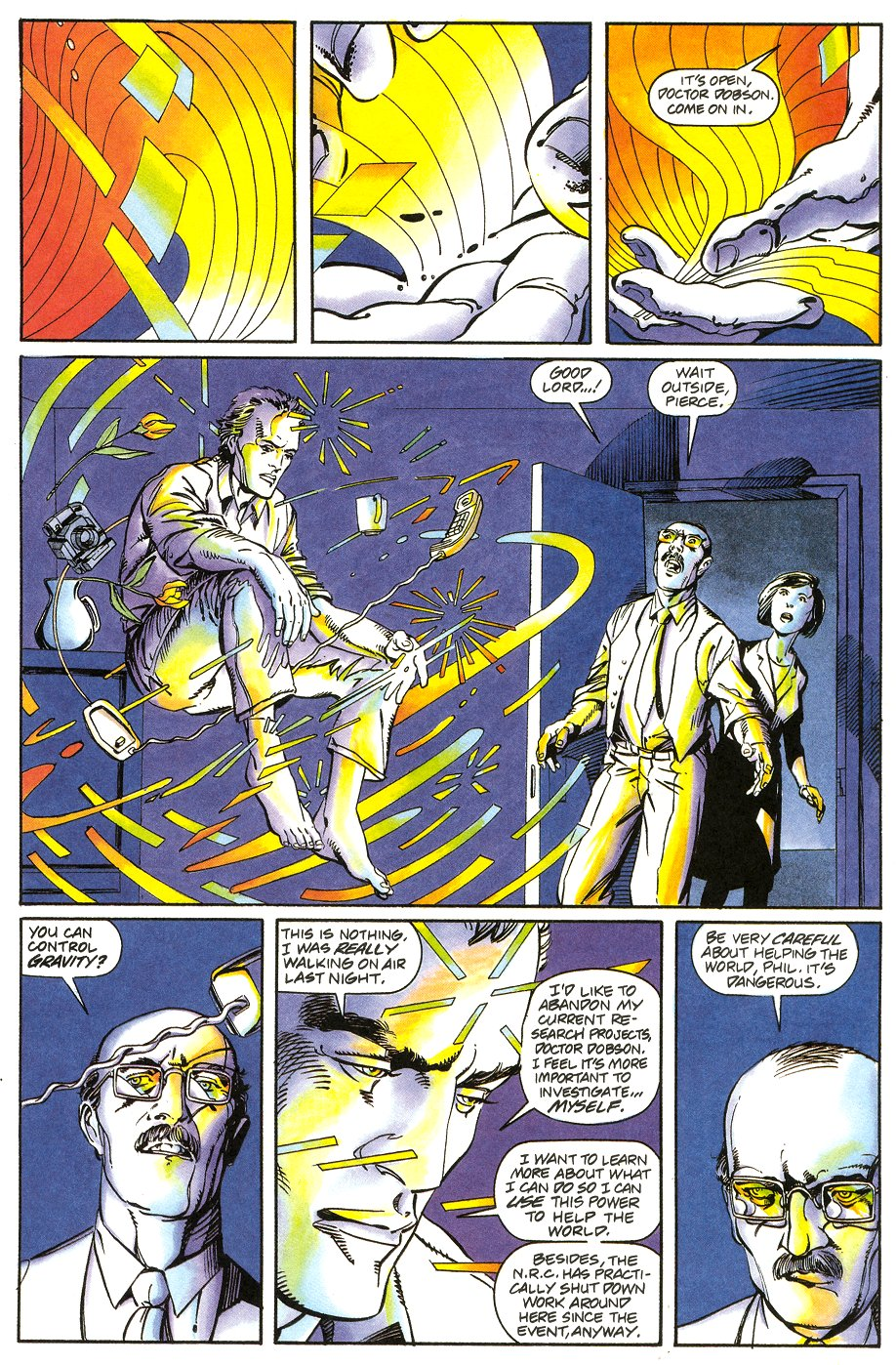 Read online Solar, Man of the Atom comic -  Issue #6 - 22