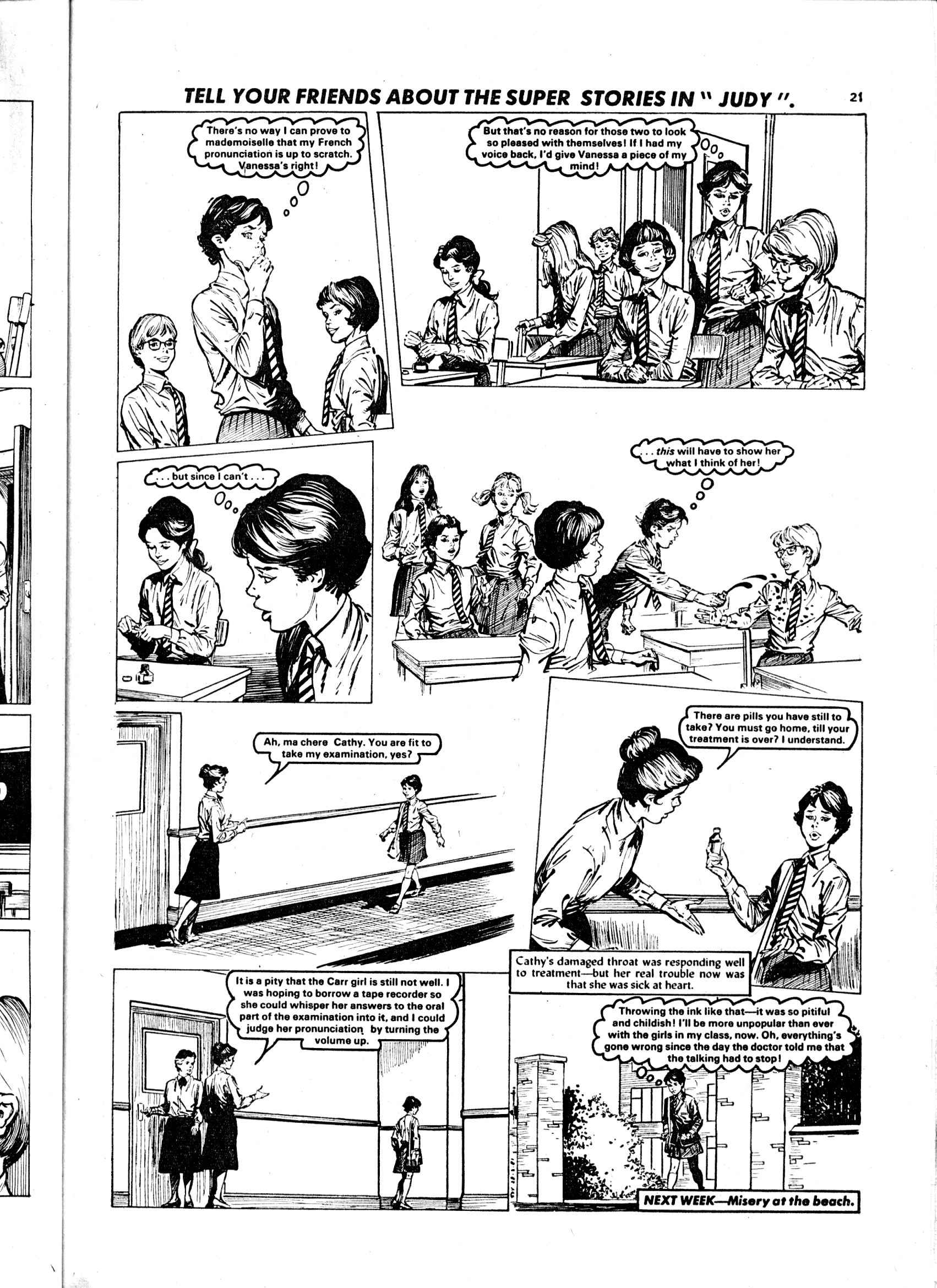 Read online Judy comic -  Issue #1107 - 21