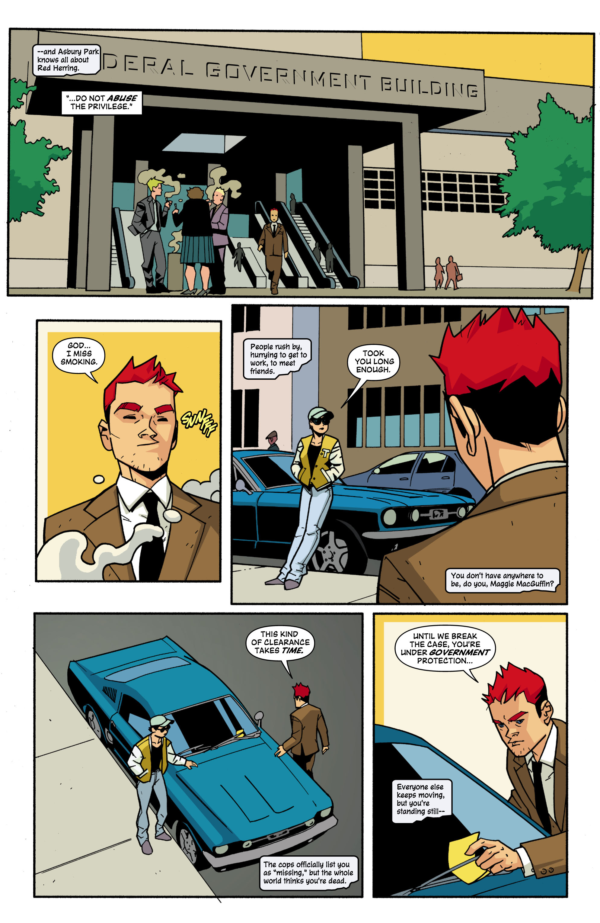 Read online Red Herring comic -  Issue #3 - 4