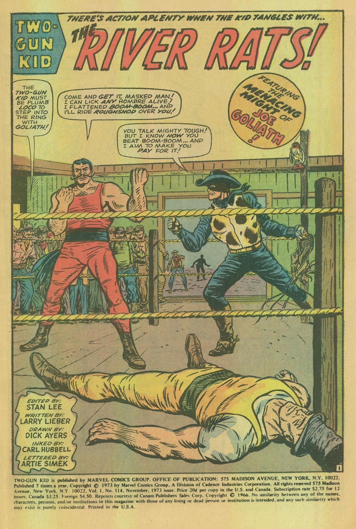 Read online Two-Gun Kid comic -  Issue #114 - 3
