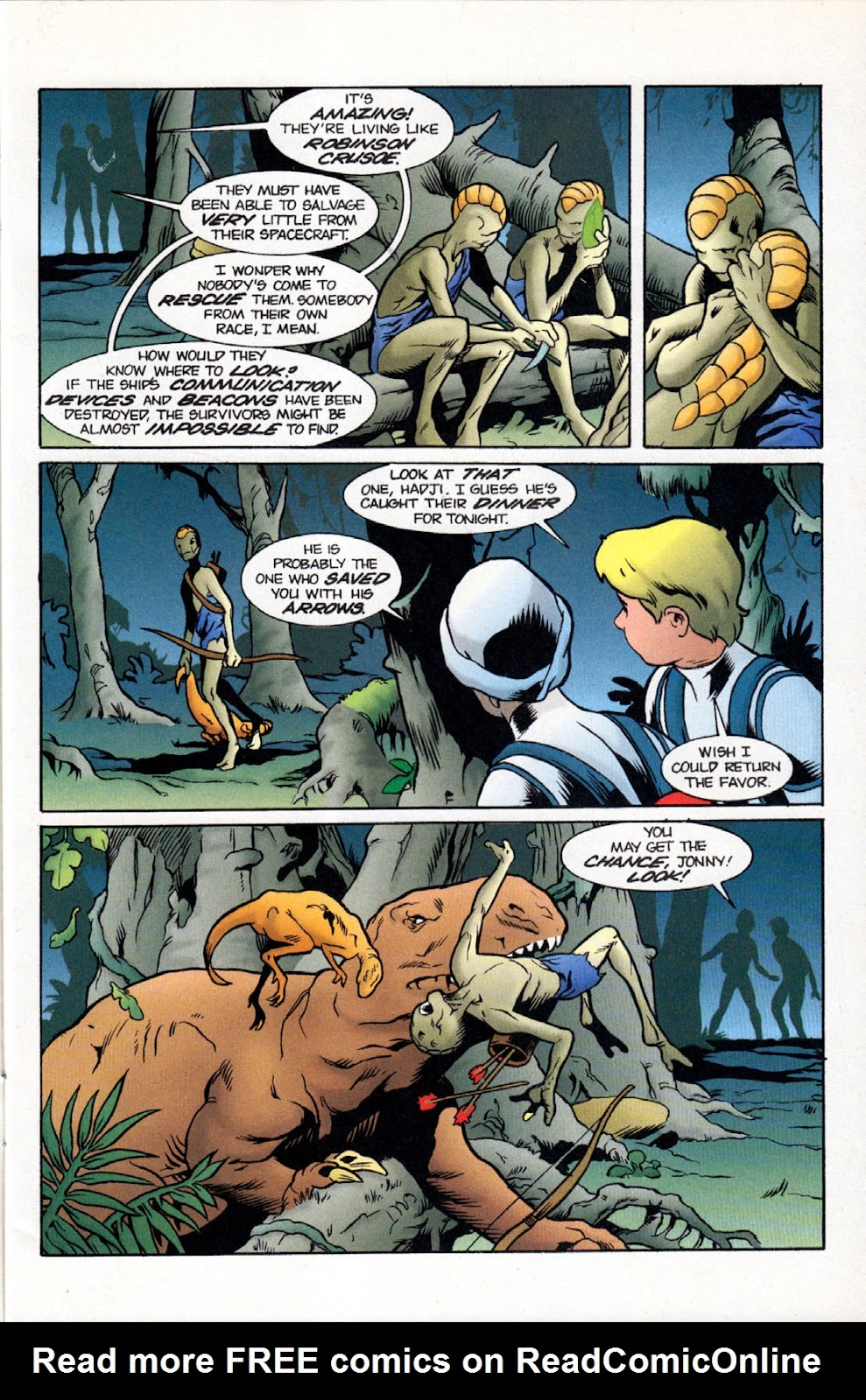 Read online The Real Adventures of Jonny Quest comic -  Issue #11 - 5