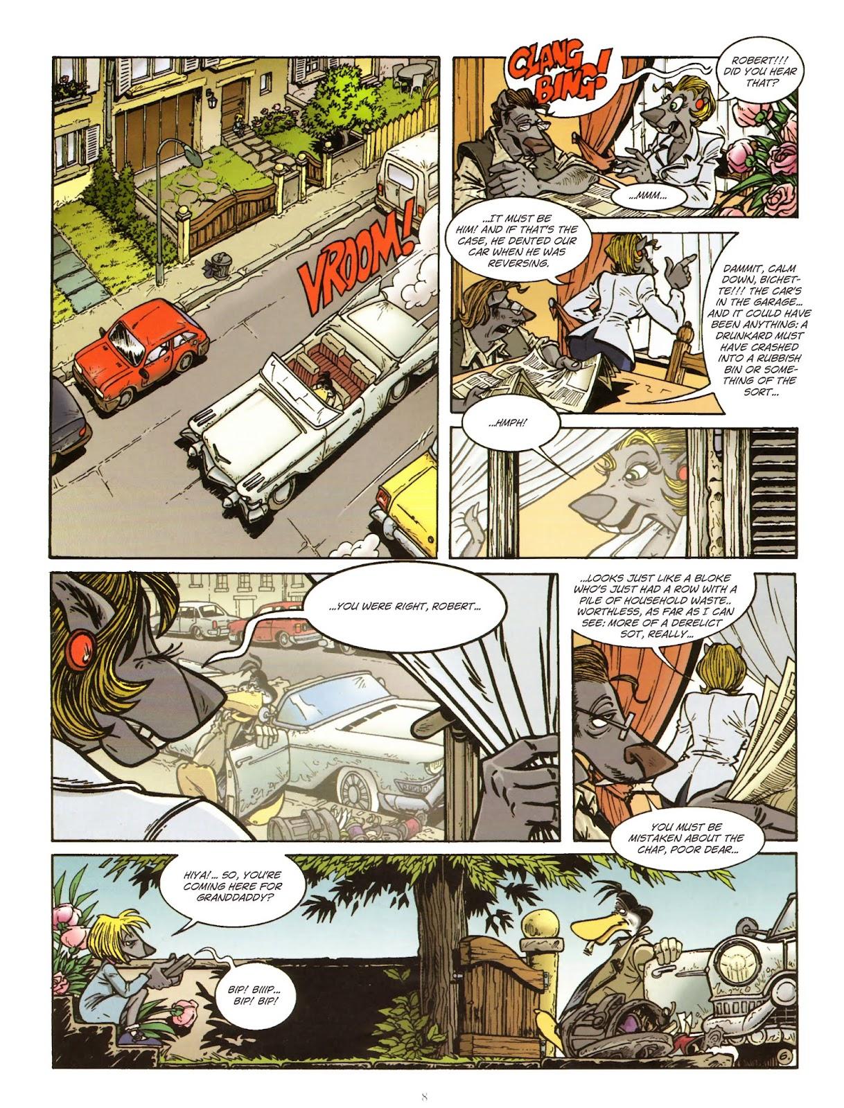 Une enquête de l'inspecteur Canardo issue 11 - Page 9
