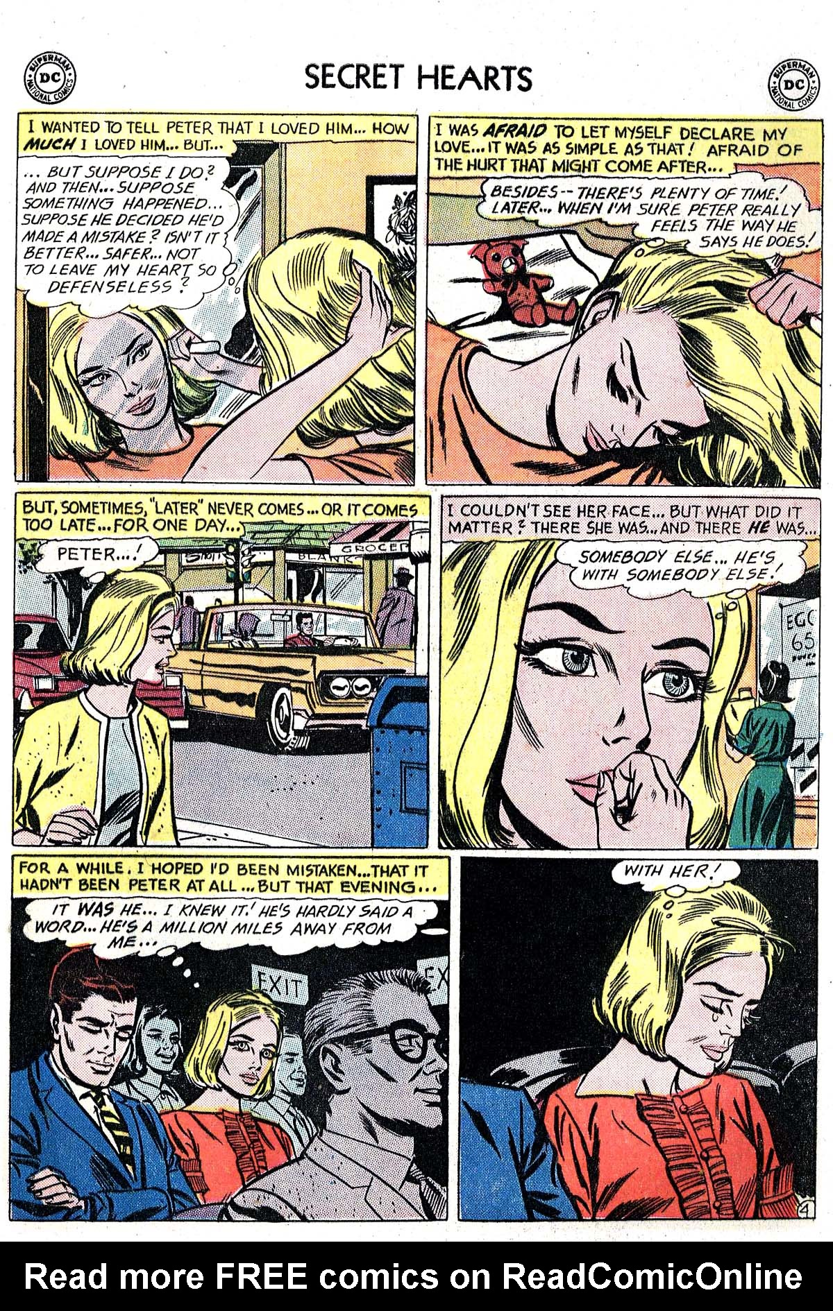 Read online Secret Hearts comic -  Issue #82 - 21