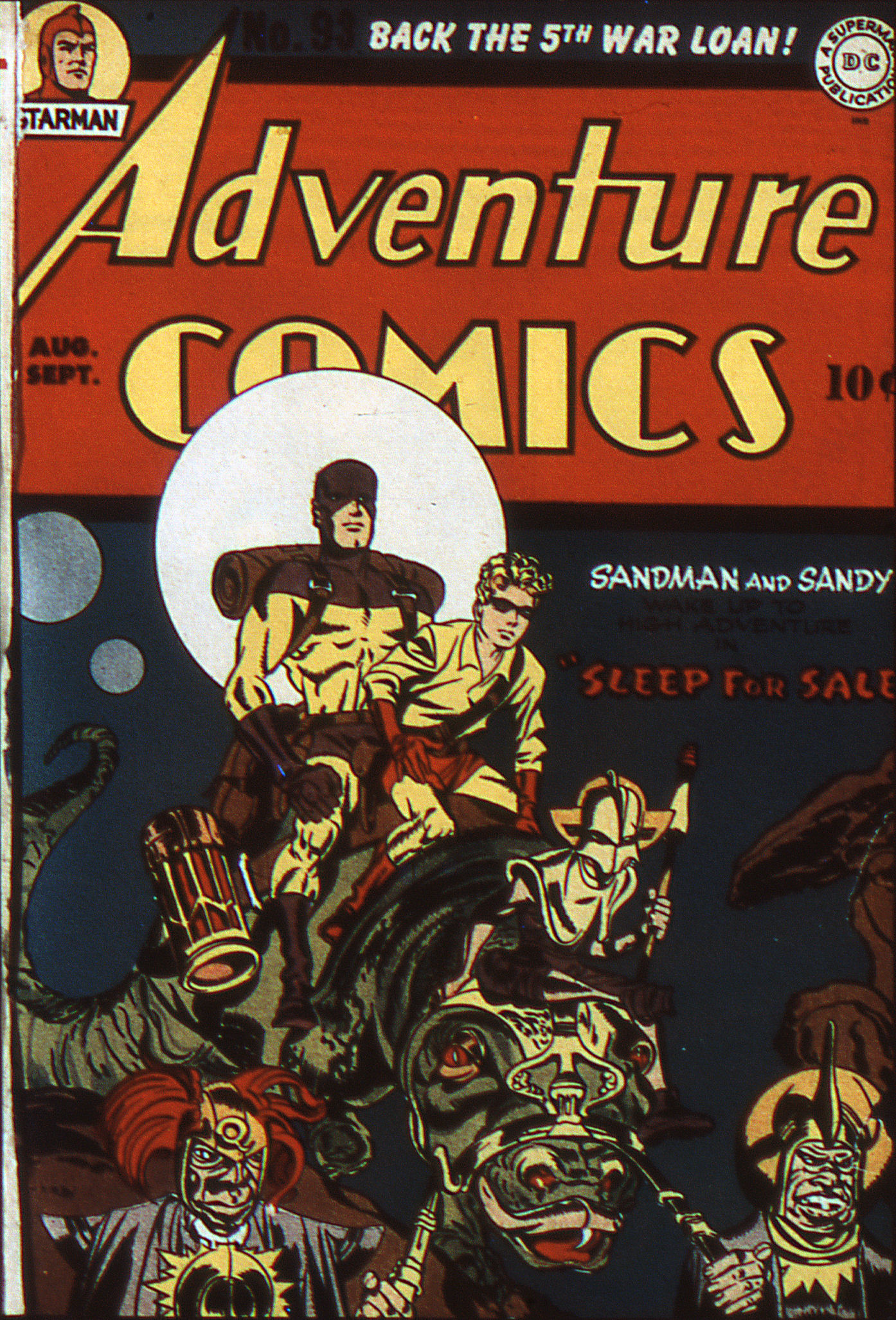 Read online Adventure Comics (1938) comic -  Issue #93 - 1