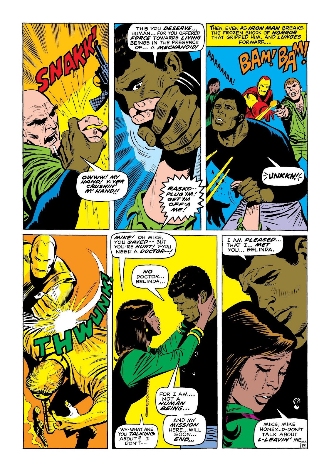 Read online Marvel Masterworks: The Invincible Iron Man comic -  Issue # TPB 7 (Part 2) - 47