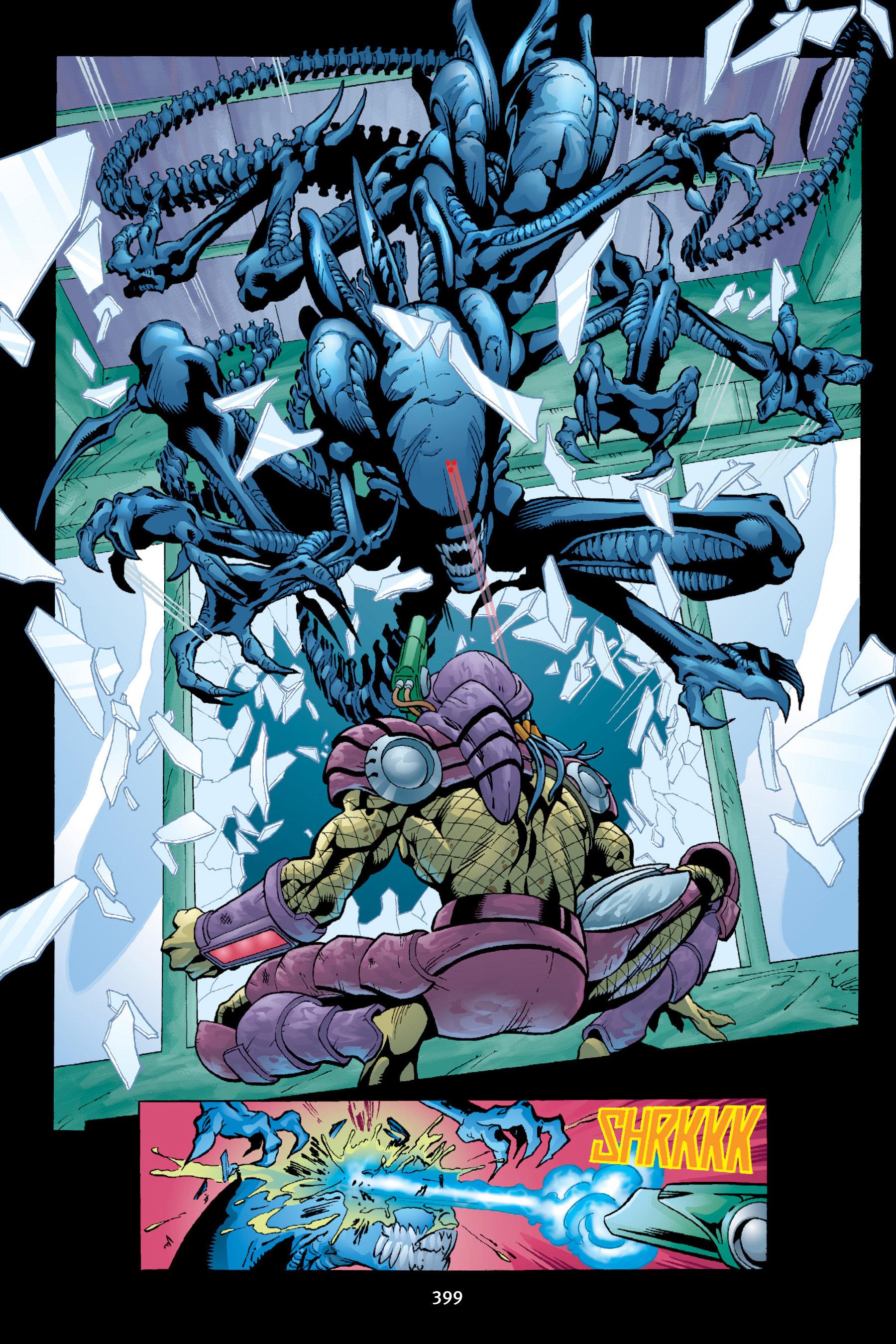 Read online Aliens vs. Predator Omnibus comic -  Issue # _TPB 2 Part 4 - 63