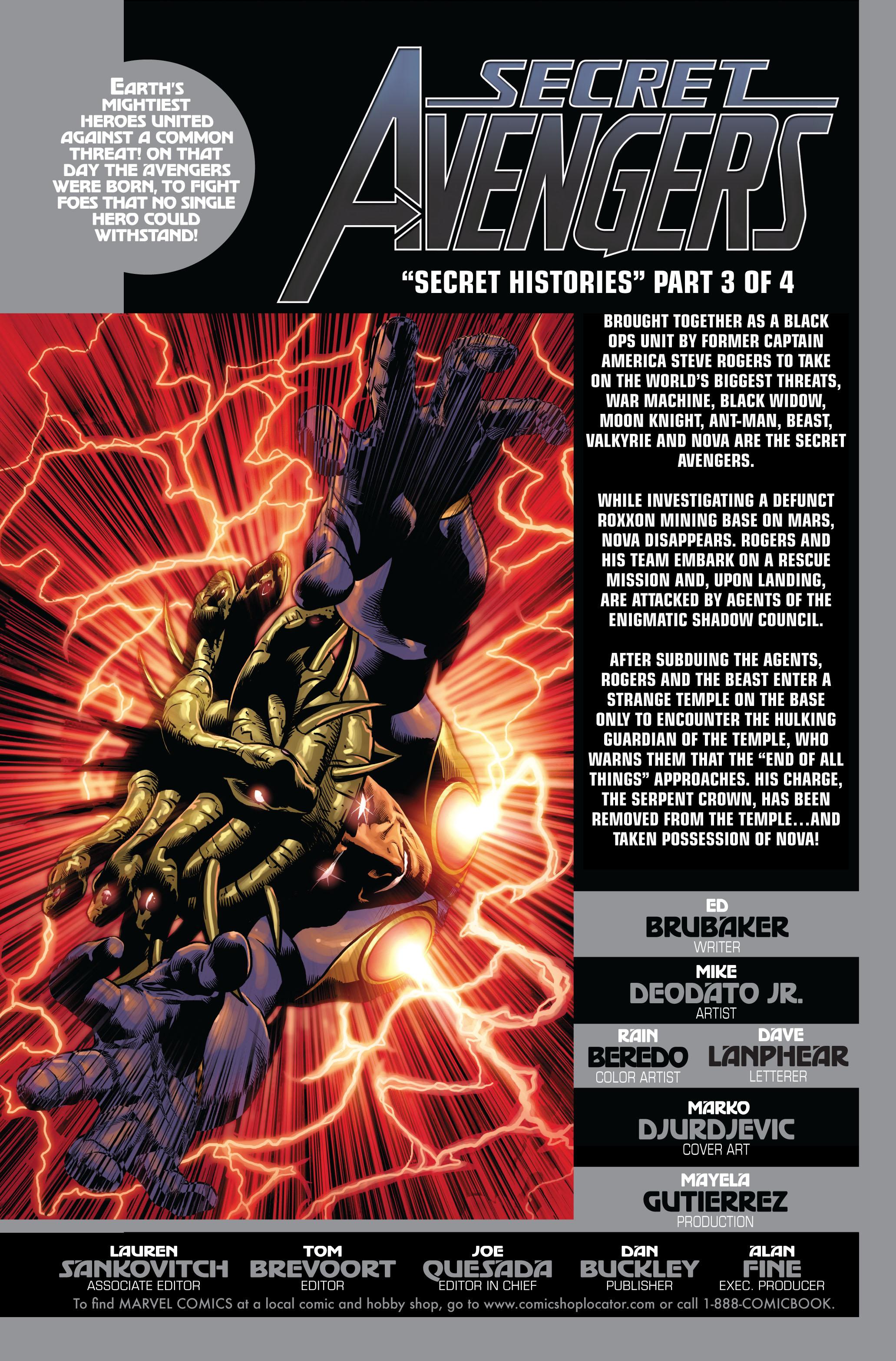 Read online Secret Avengers (2010) comic -  Issue #3 - 3