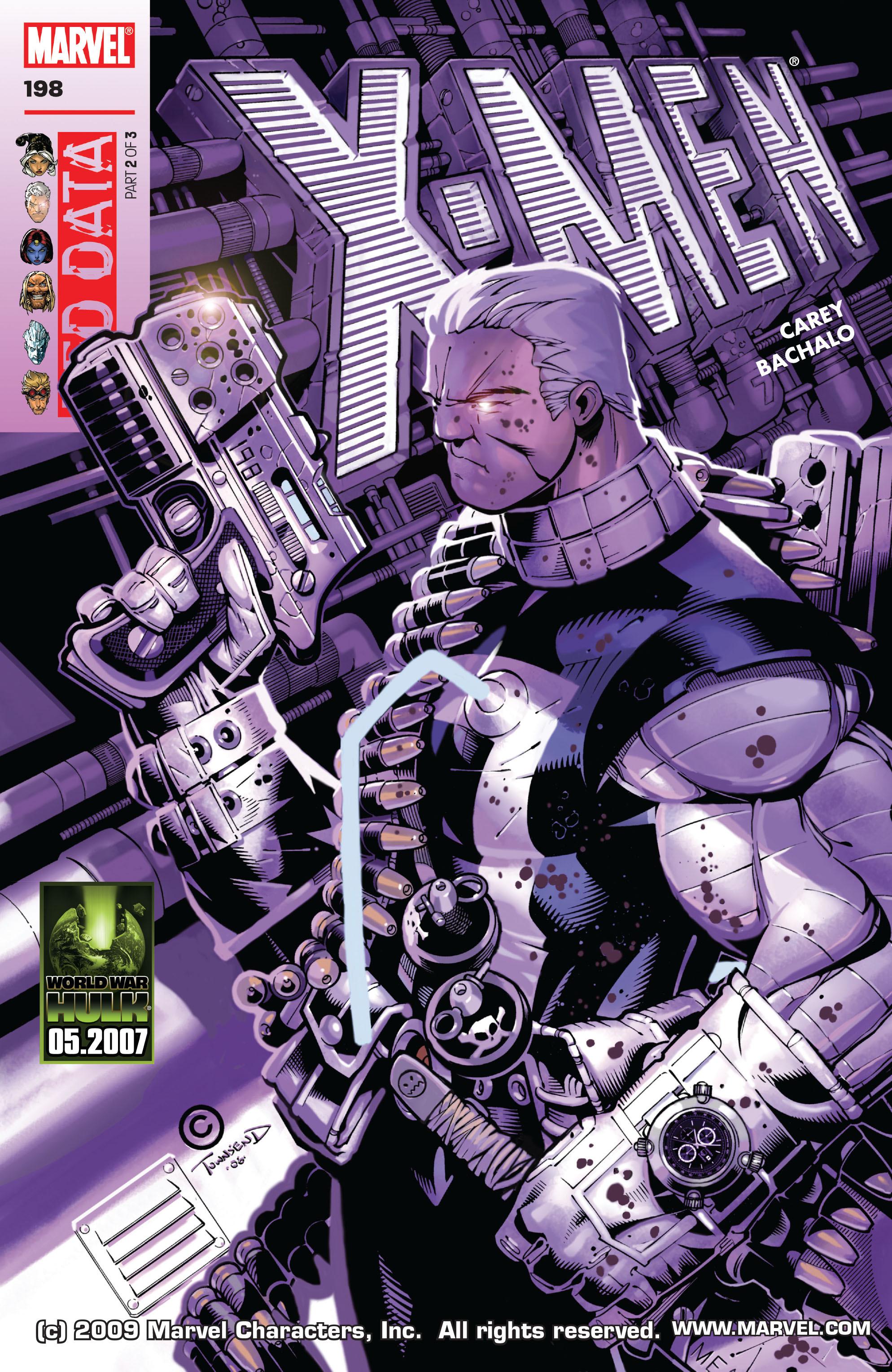 X-Men (1991) 198 Page 0
