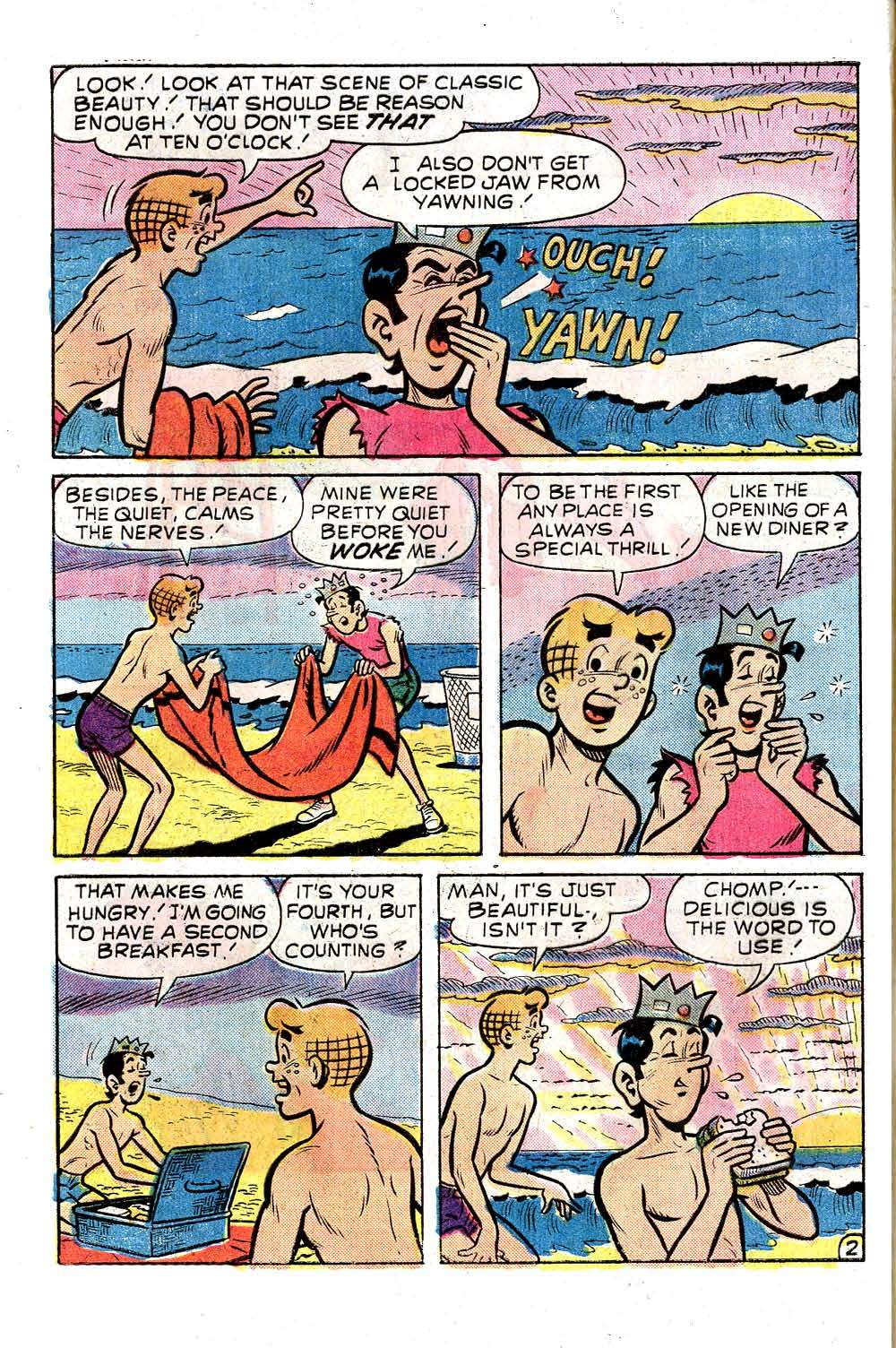 Read online Archie (1960) comic -  Issue #257 - 4