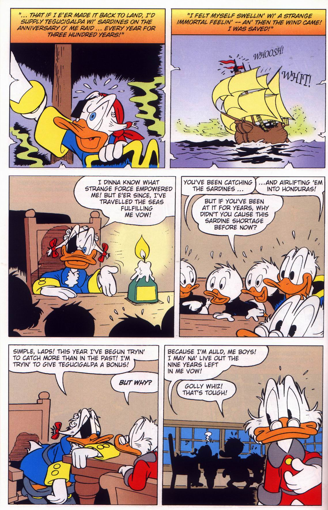 Read online Uncle Scrooge (1953) comic -  Issue #316 - 22