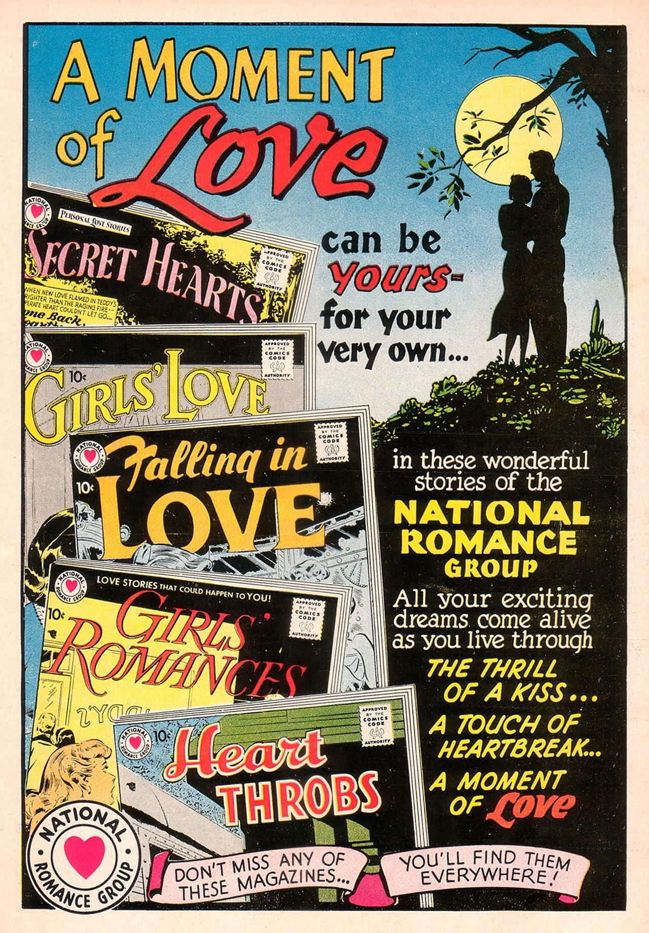 Read online Secret Hearts comic -  Issue #74 - 36