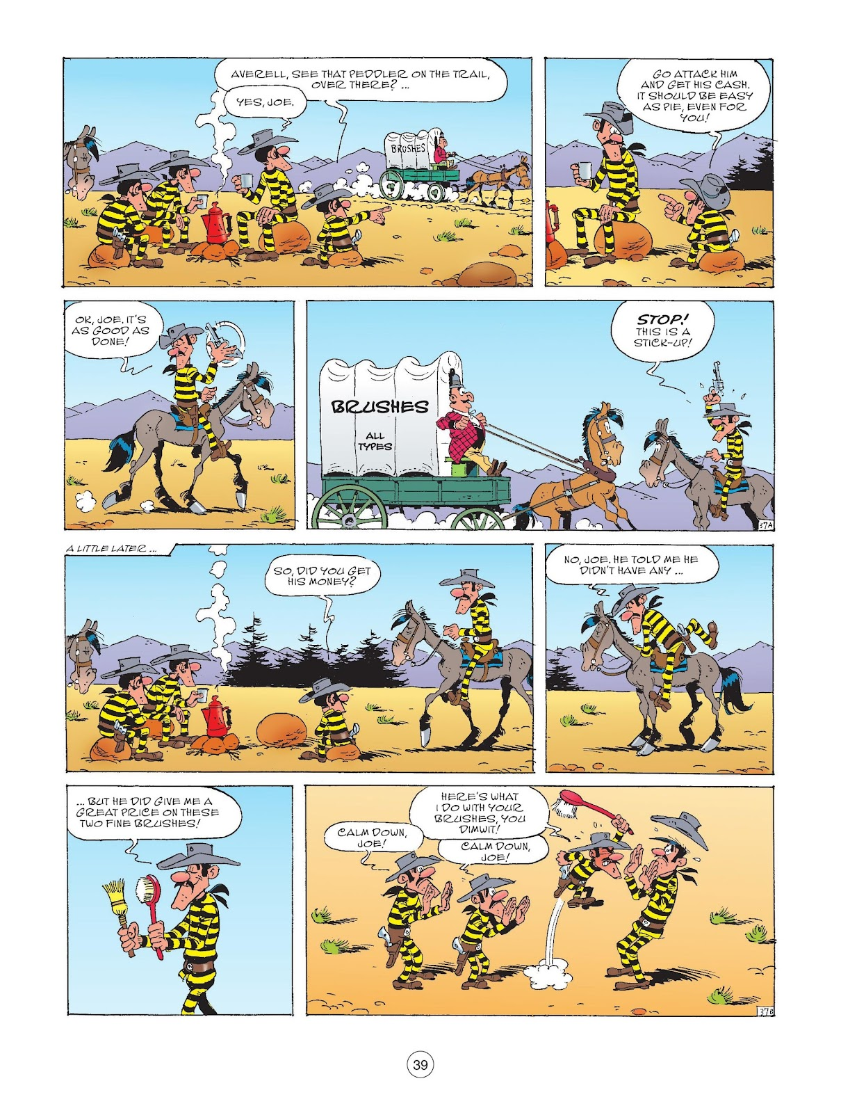 A Lucky Luke Adventure issue 72 - Page 41